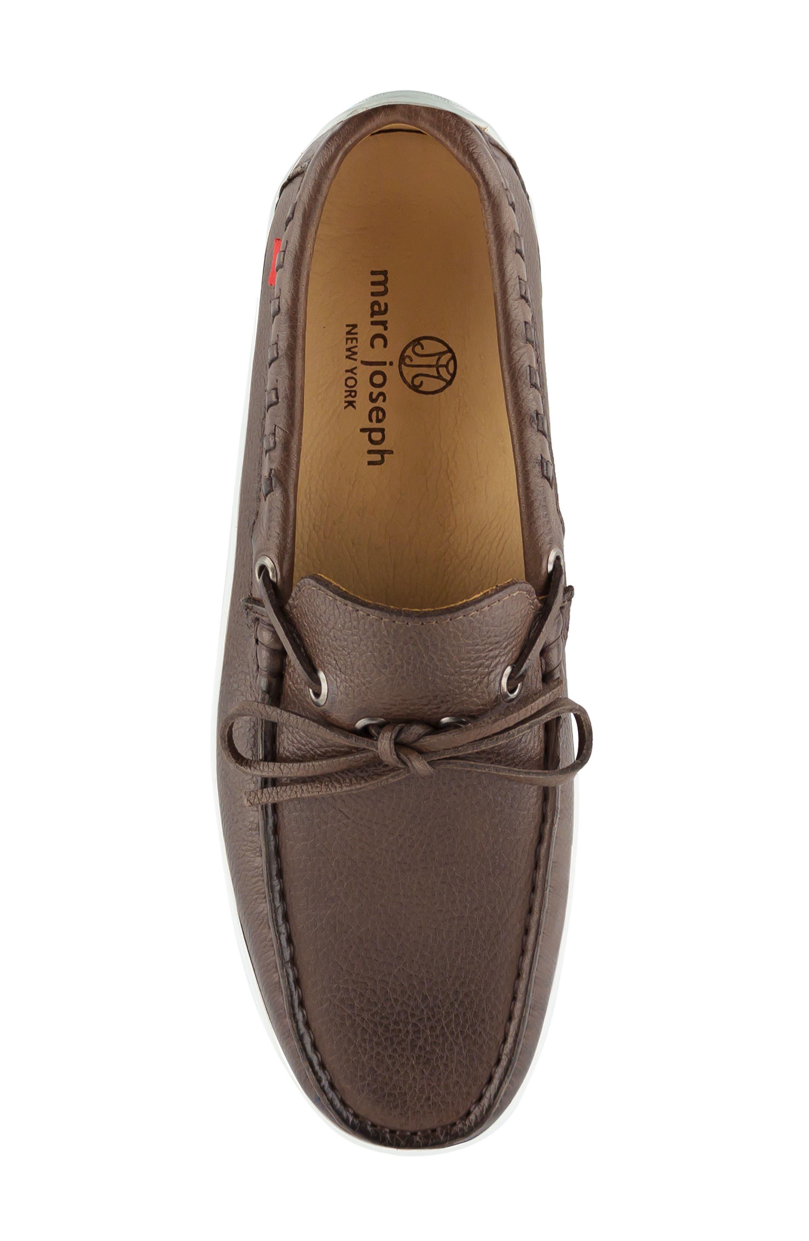 Alternate Image 4  - Marc Joseph New York Hudson Driving Shoe (Men)