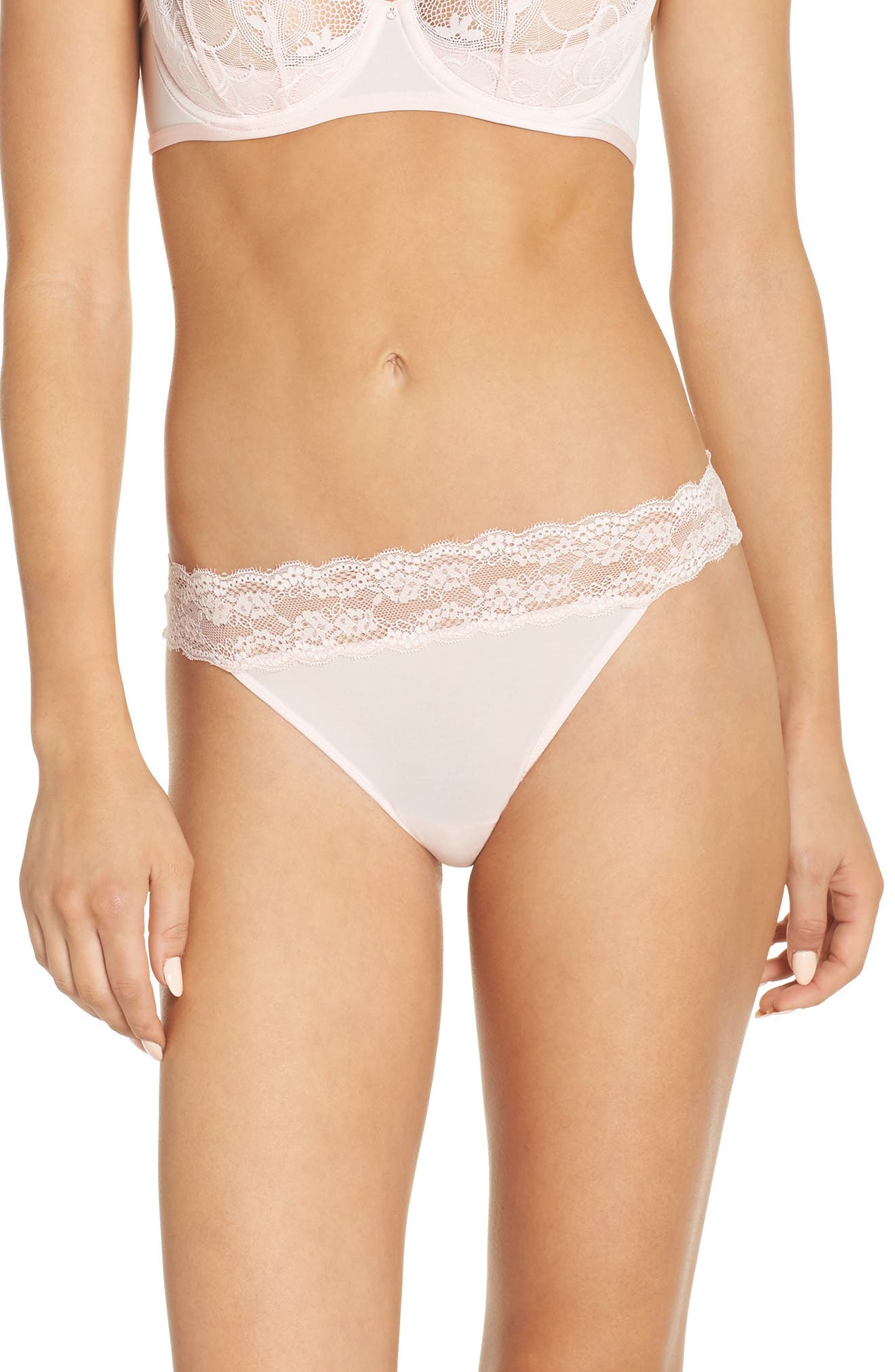 Betsey Johnson Lovely Lace Open Back Bikini (3 for $33)