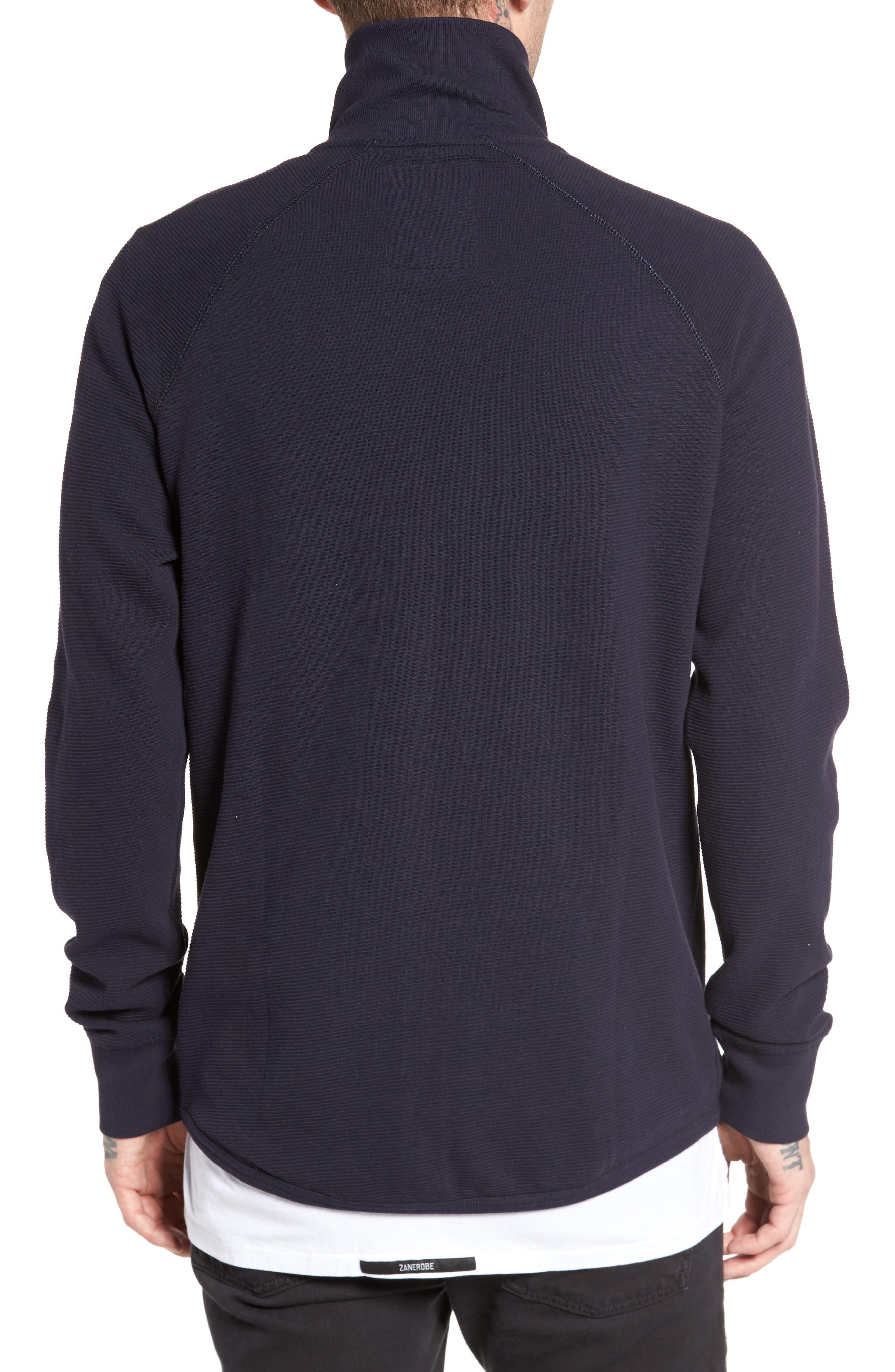 Jirgi Zip Front Jacket,                             Alternate thumbnail 2, color,                             Dark Naval Blue