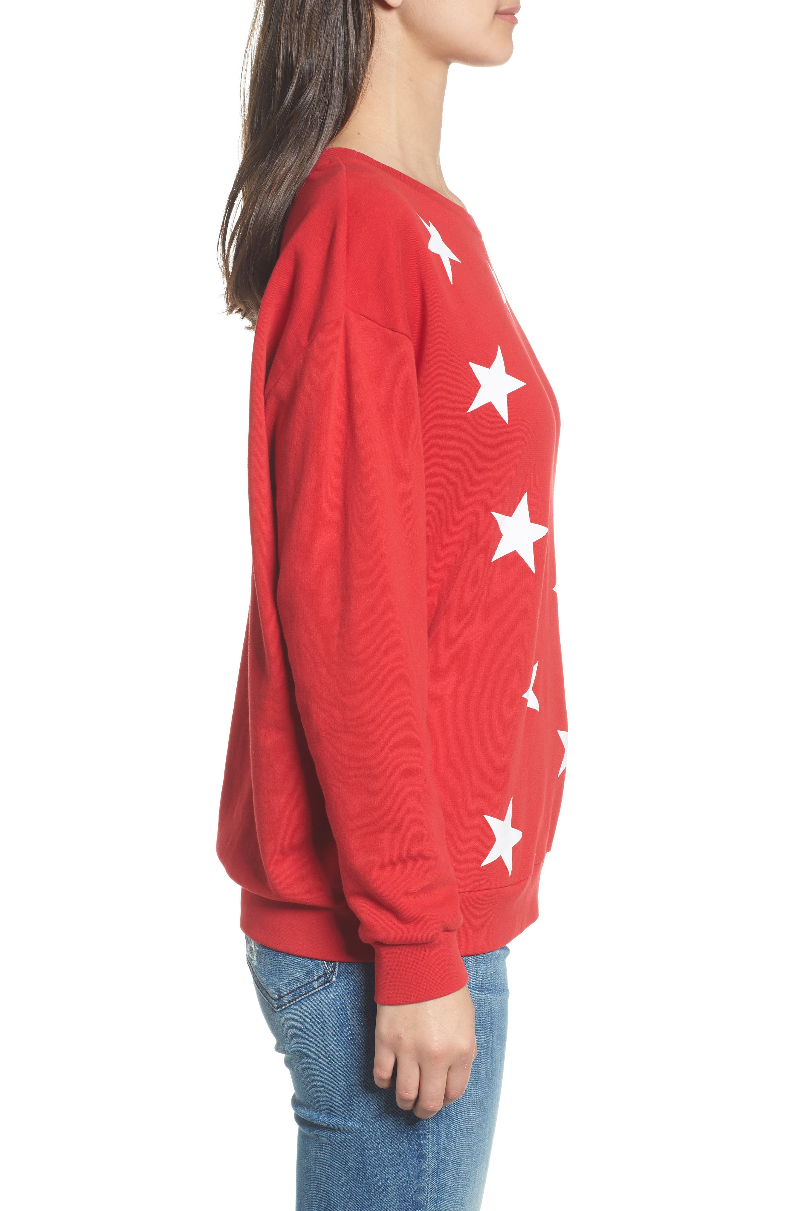 Alternate Image 3  - South Parade Alexa - Super Stars Sweatshirt