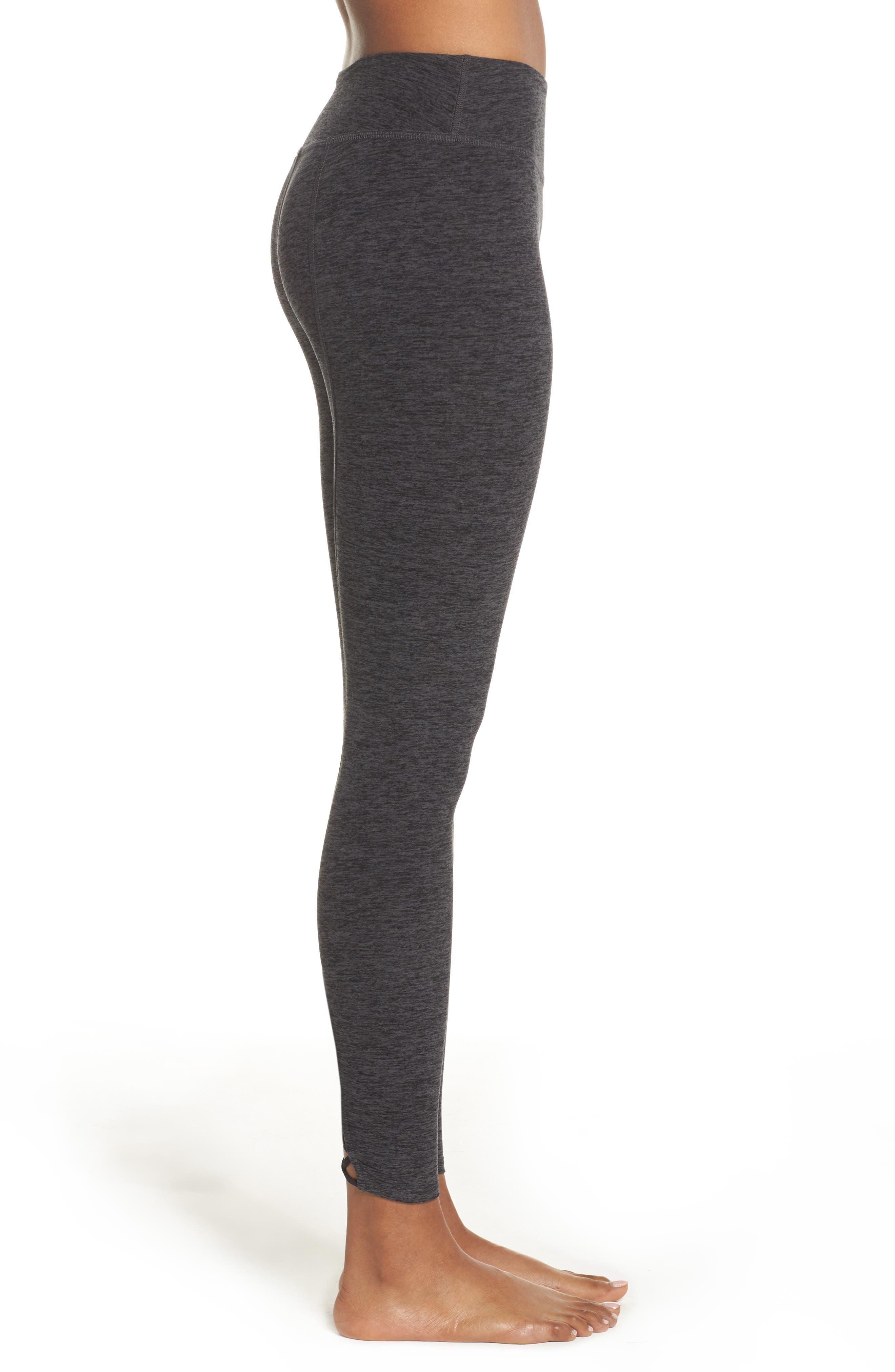 Alternate Image 3  - Beyond Yoga Crisscross Crop Leggings