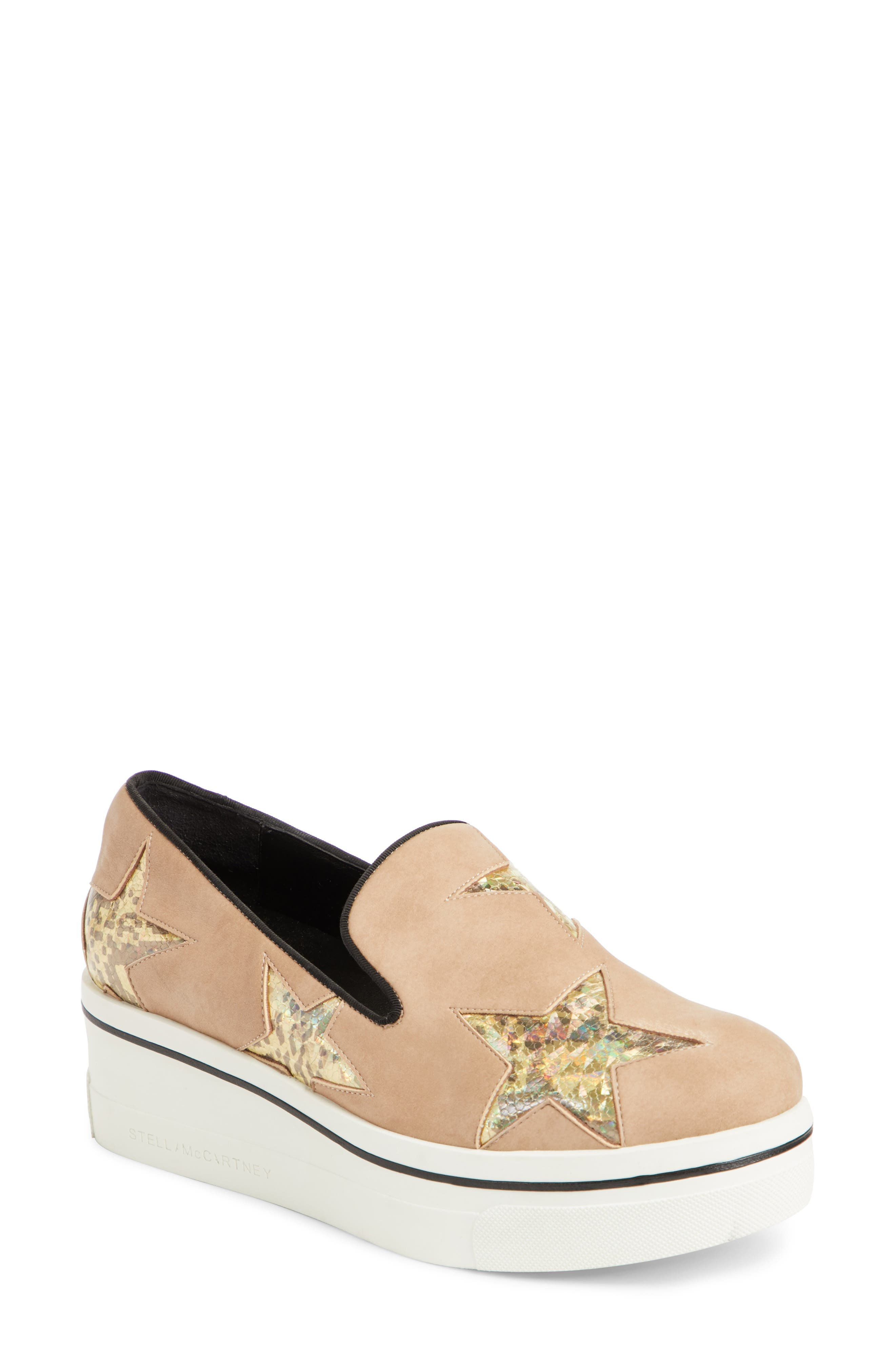 Binx Star Loafer,                             Main thumbnail 1, color,                             Pink/ Gold