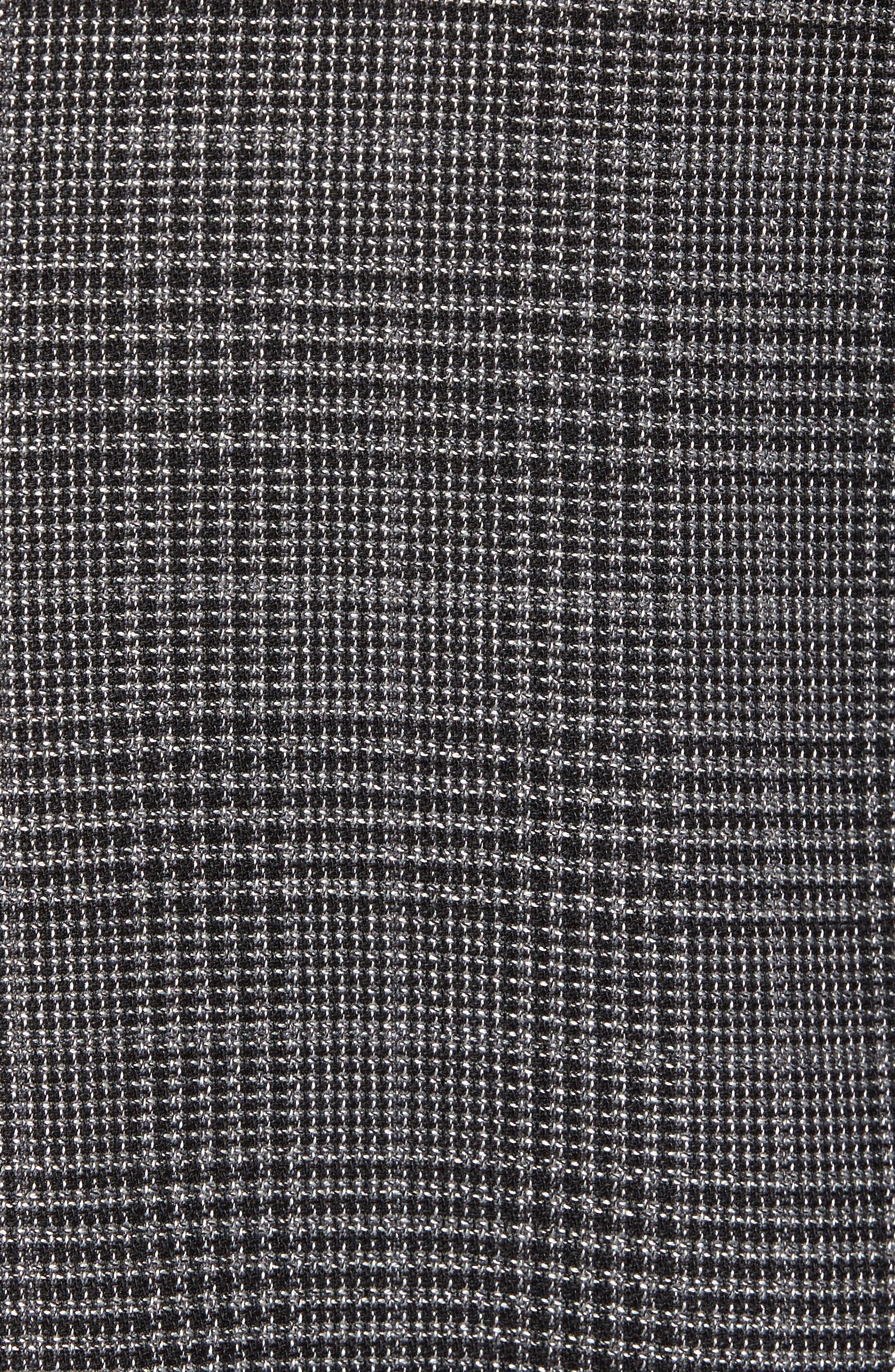 Alternate Image 5  - BOSS Nobis Trim Fit Plaid Wool & Silk Blend Sport Coat