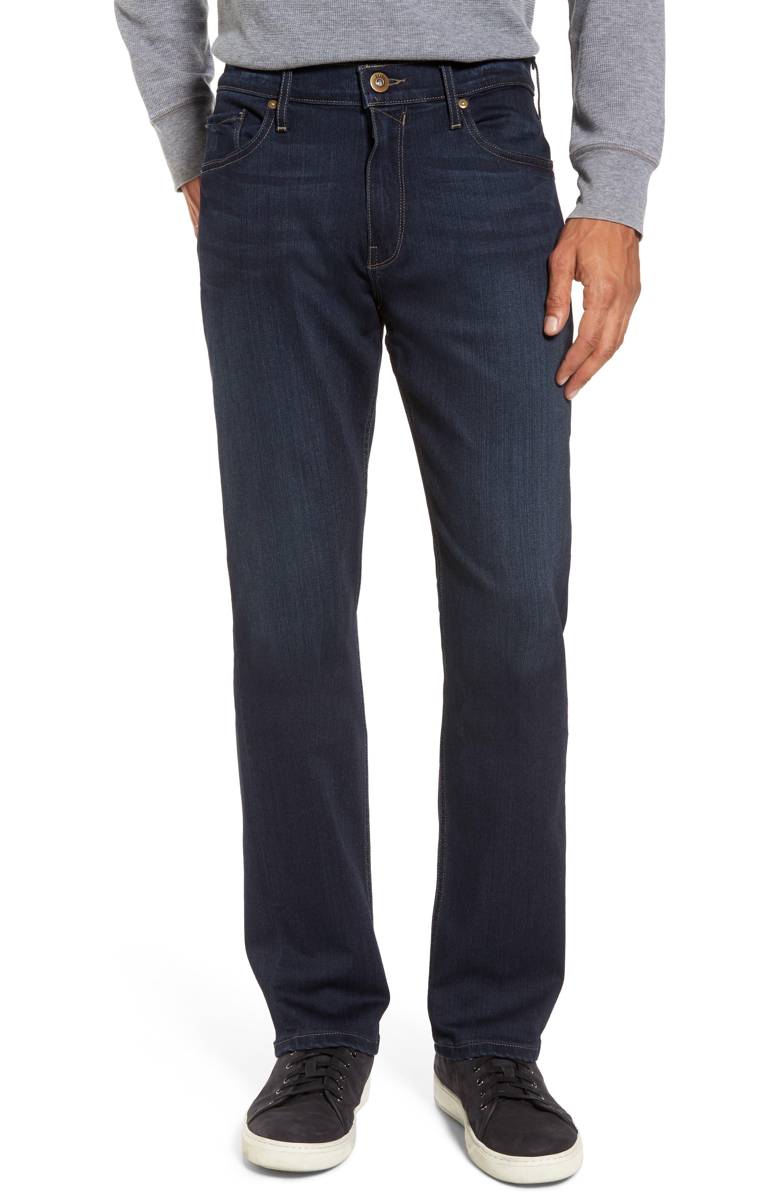 Transcend - Normandie Straight Fit Jeans,                             Main thumbnail 1, color,                             Barrington