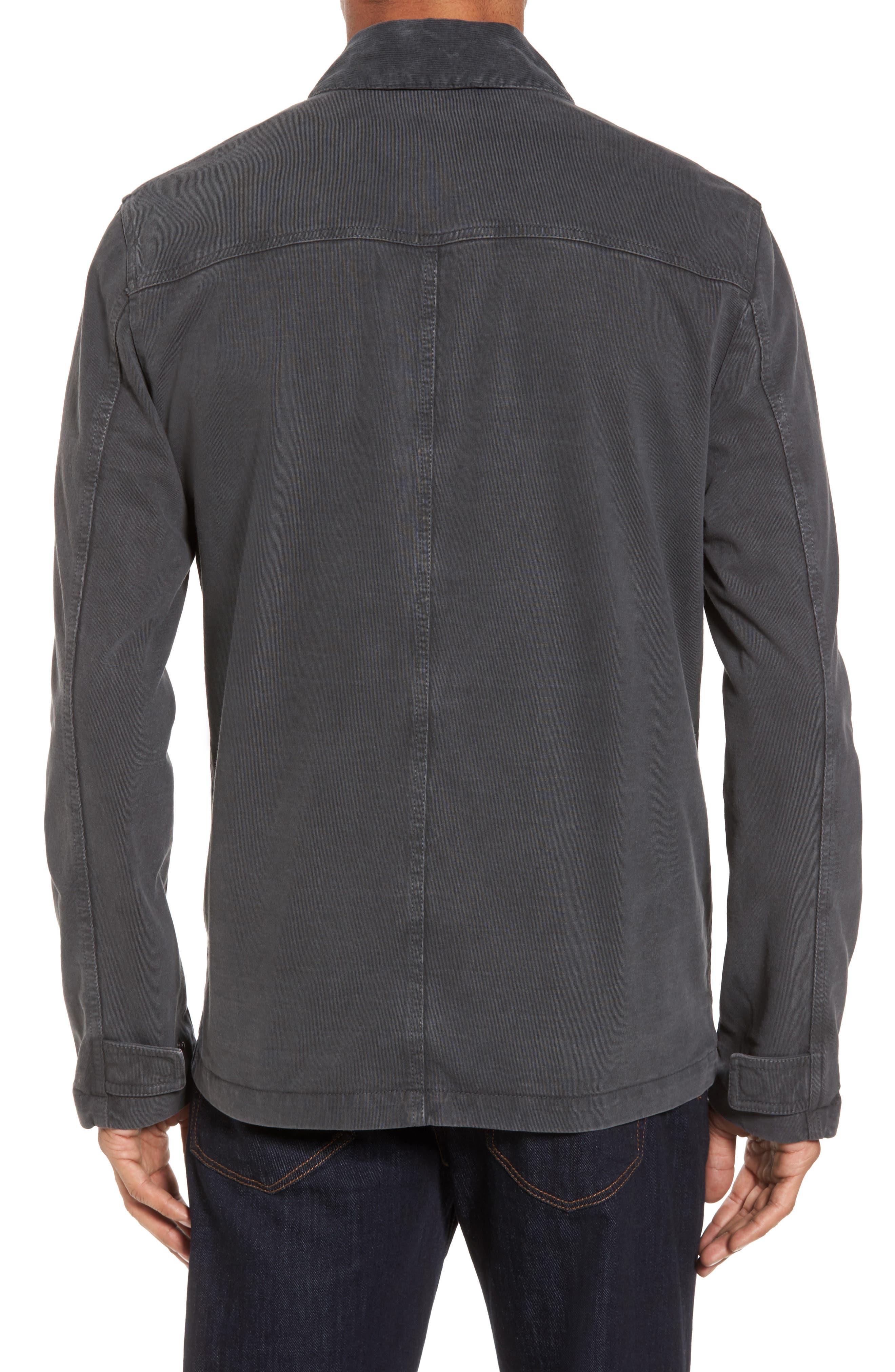 Garment Dyed Field Jacket,                             Alternate thumbnail 2, color,                             Carbon Pigment