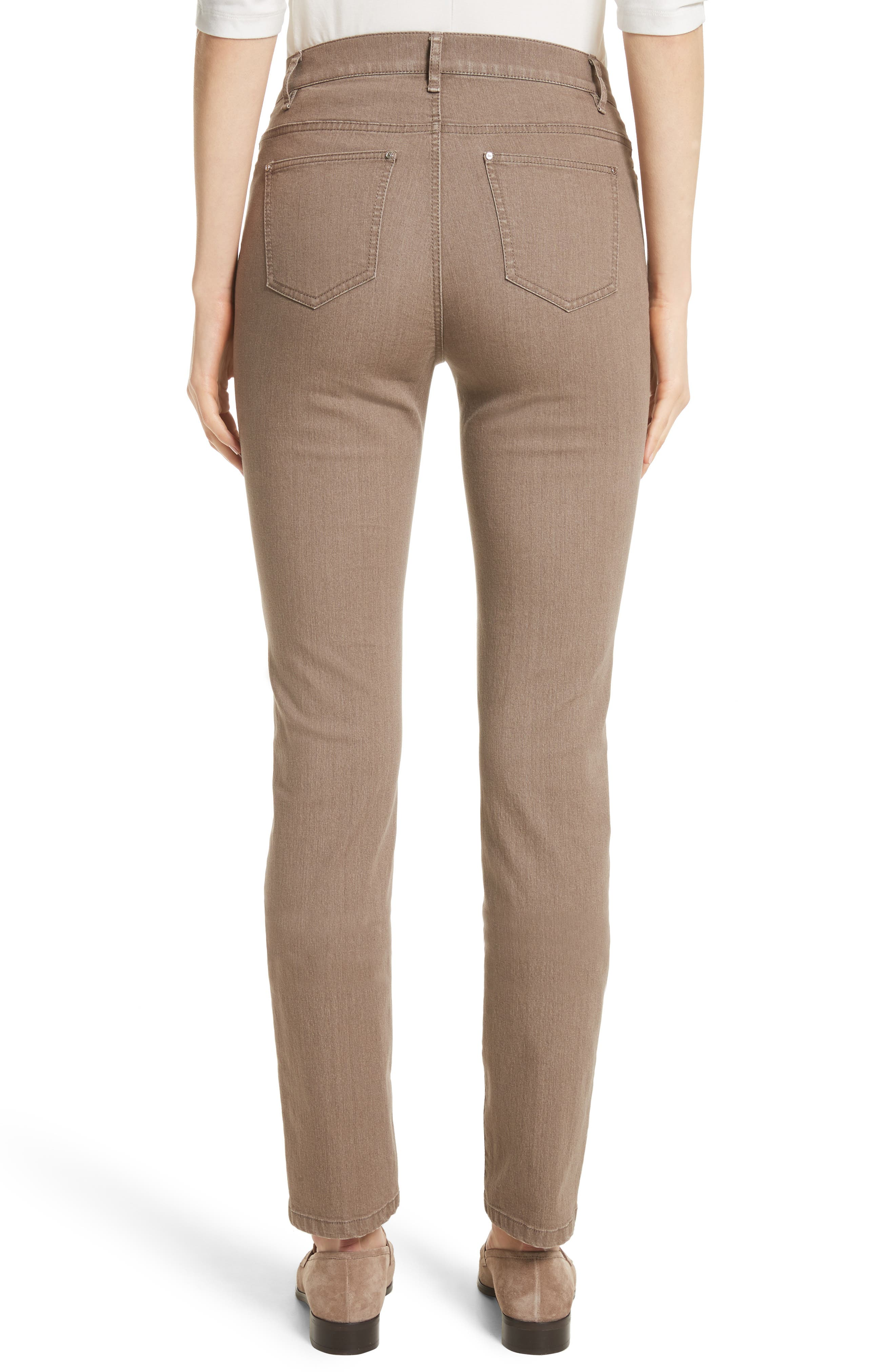 'Primo Denim' Curvy Fit Slim Leg Jeans,                             Alternate thumbnail 2, color,                             Tumbleweed