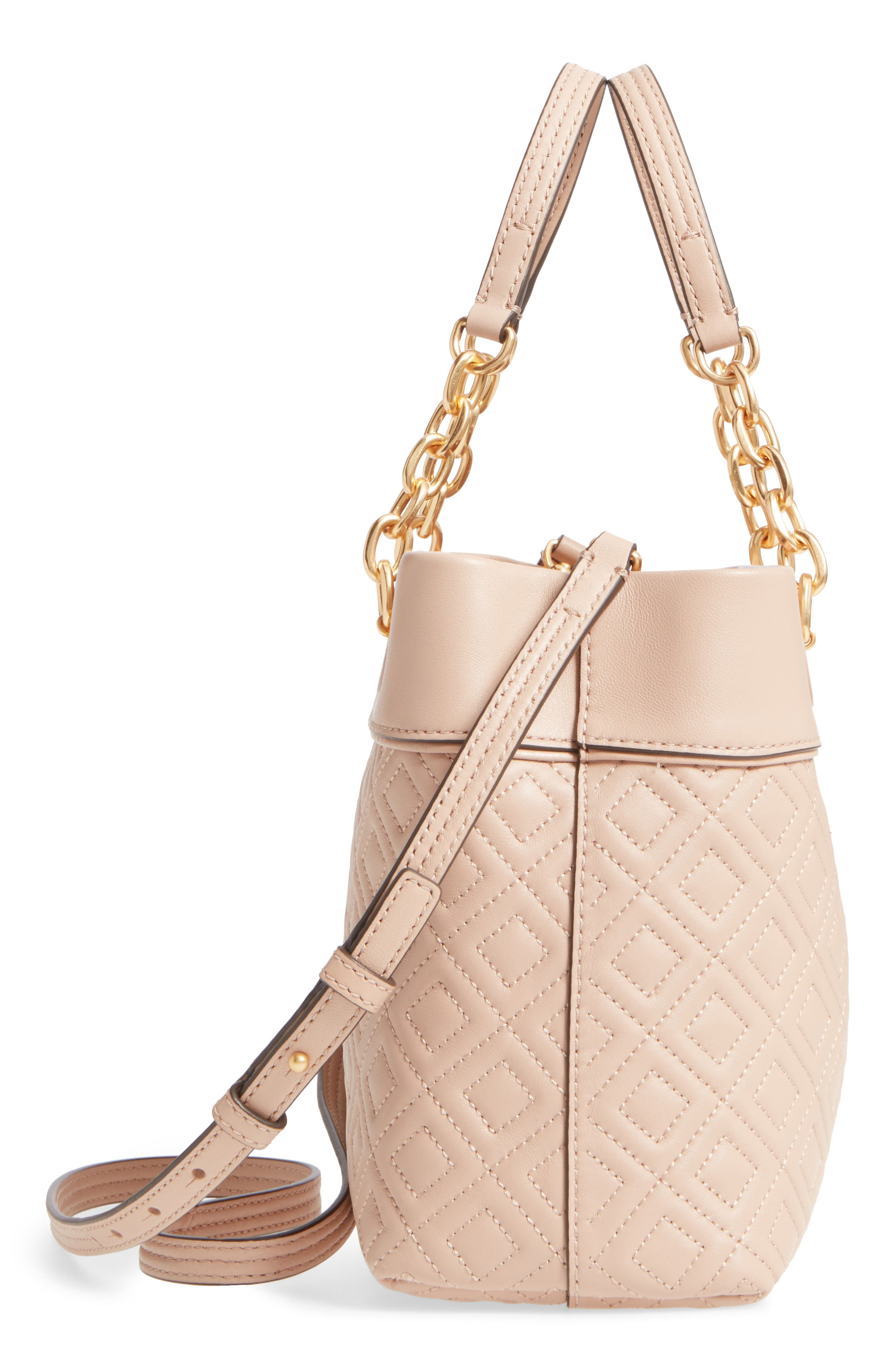 Alternate Image 5  - Tory Burch Small Fleming Leather Tote