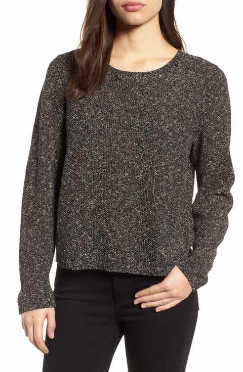 Eileen Fisher Tweed Knit Sweater