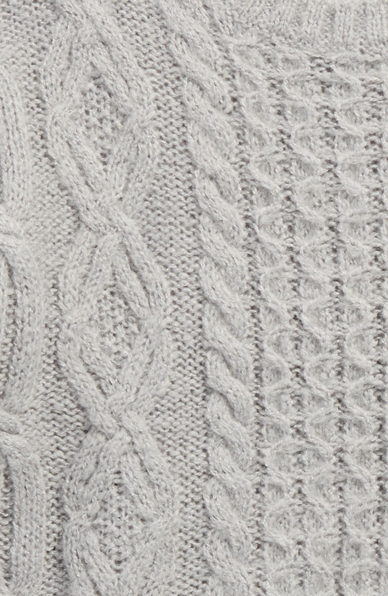 Alternate Image 2  - Tucker + Tate Cable Sweater (Big Girls)