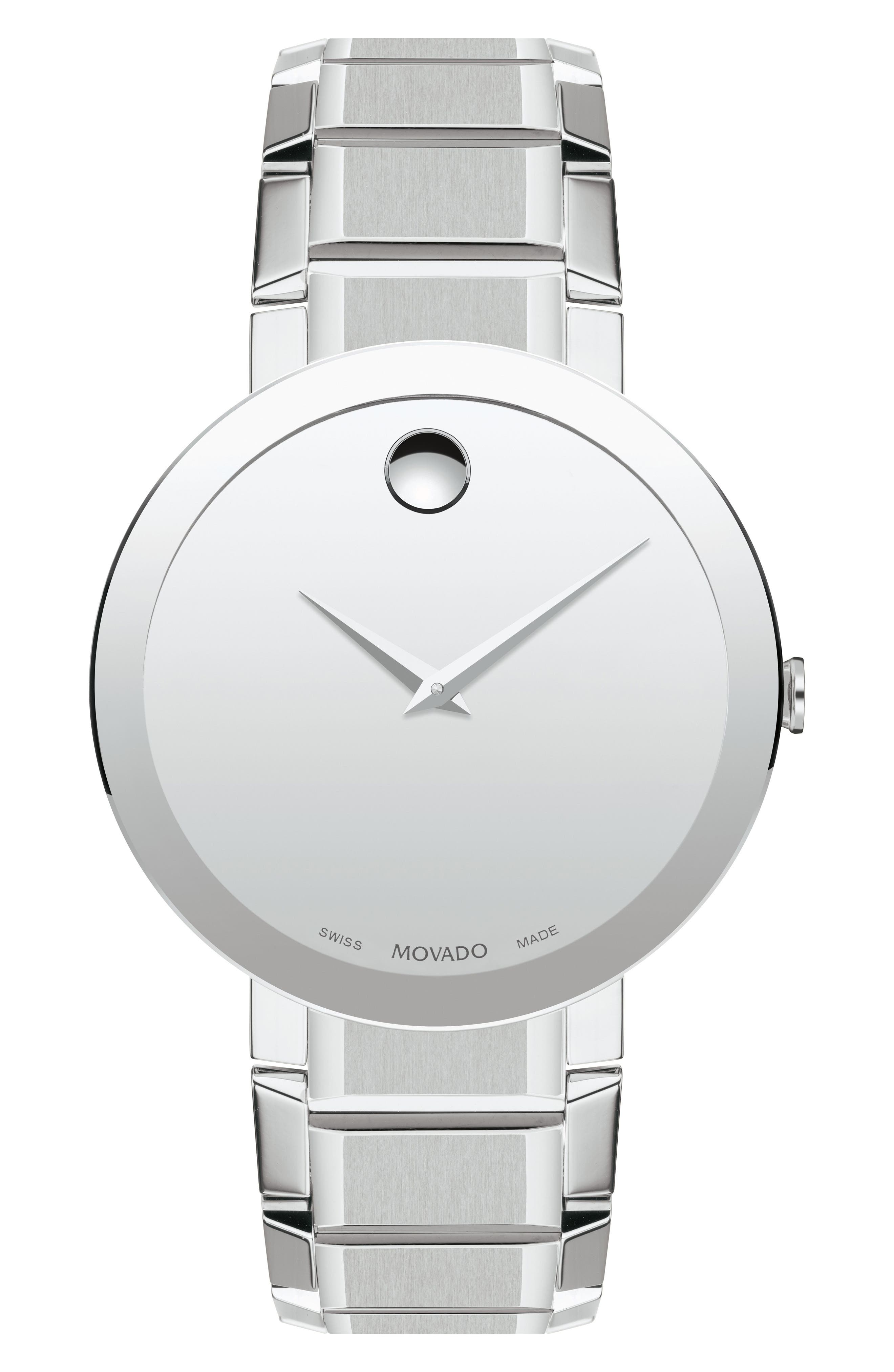 Alternate Image 1 Selected - Movado Sapphire Bracelet Watch, 39mm