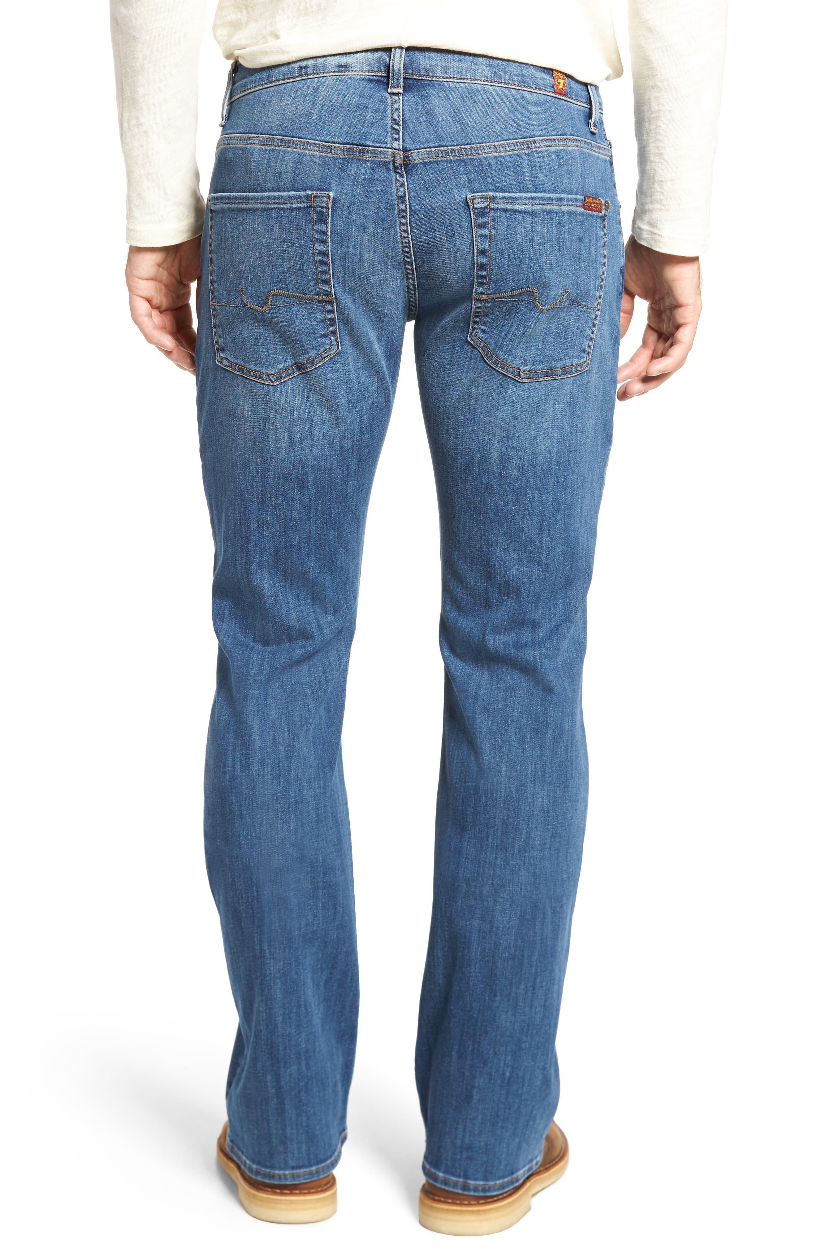 Brett Bootcut Jeans,                             Alternate thumbnail 2, color,                             Aurora
