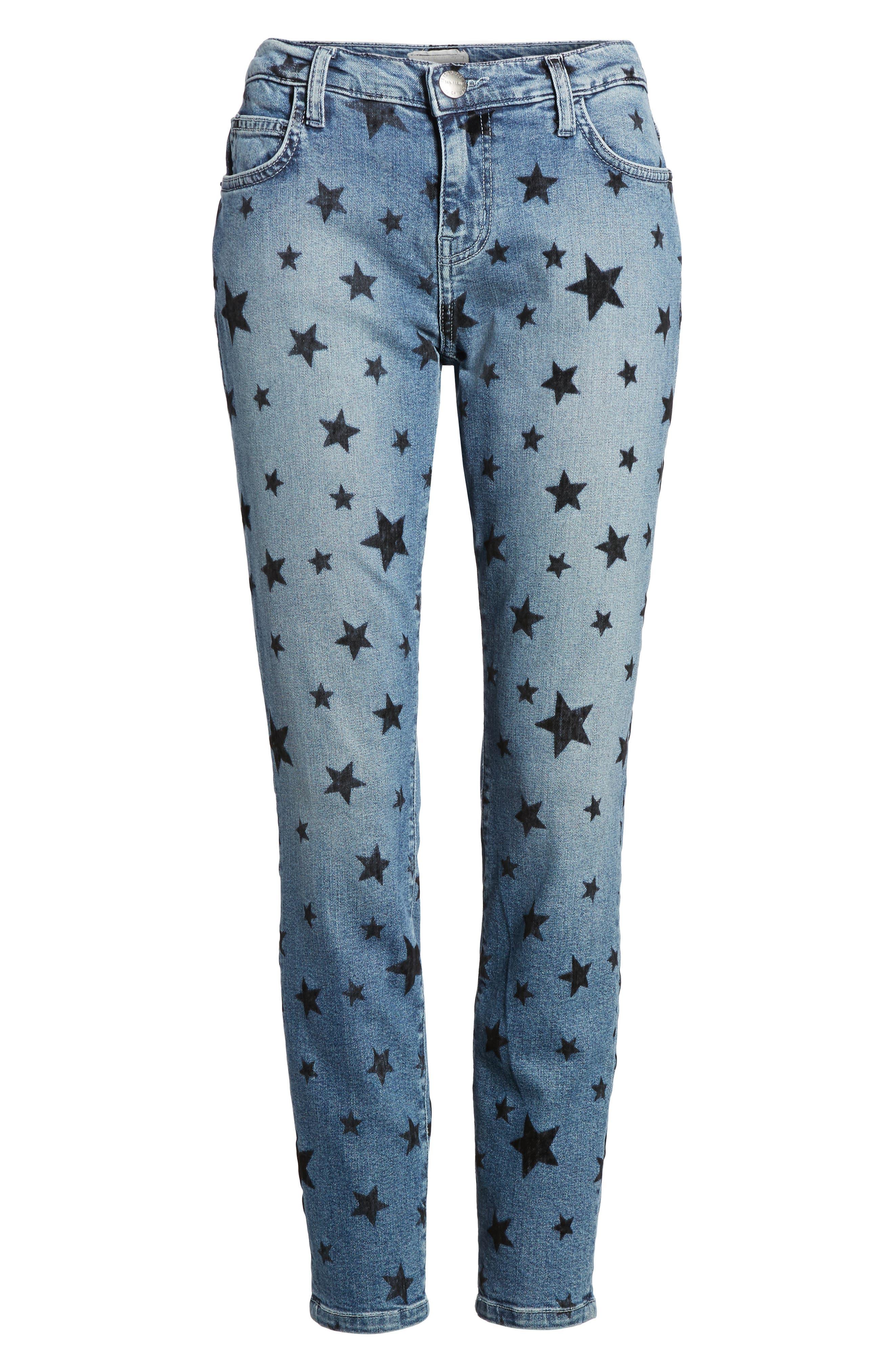 The Stiletto Skinny Jeans,                             Alternate thumbnail 6, color,                             Flocked Star