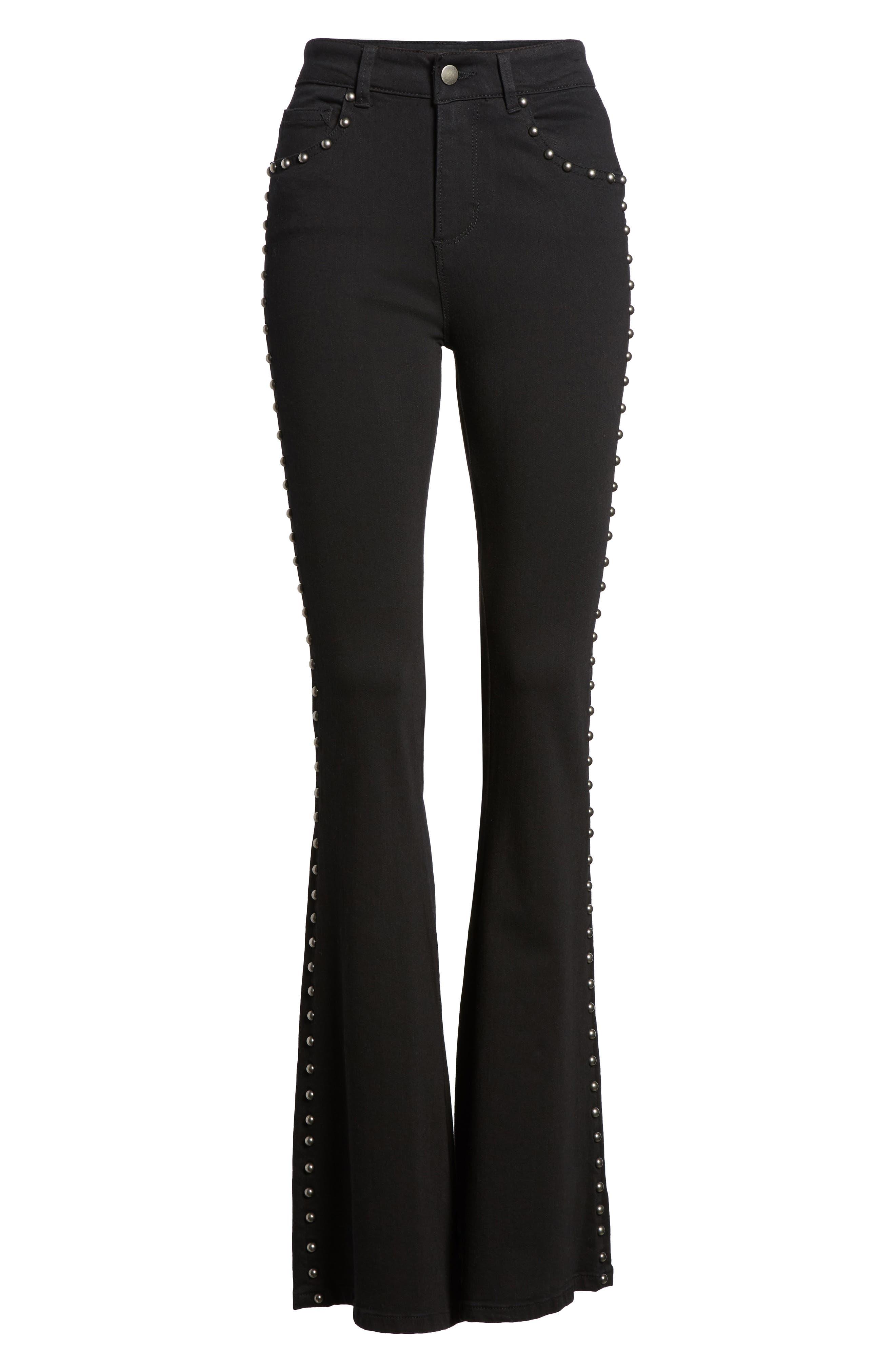 Alternate Image 6  - AFRM Stud Flare Jeans