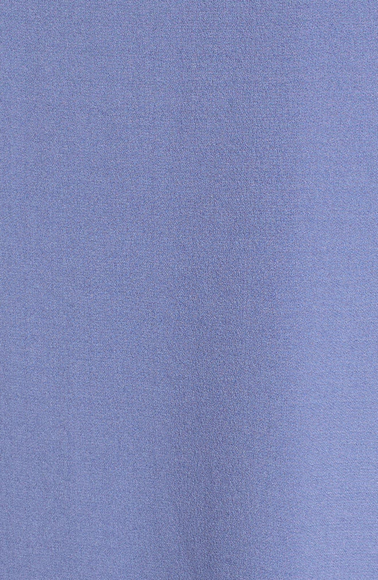 Asymmetrical Silk Tank,                             Alternate thumbnail 5, color,                             Periwinkle