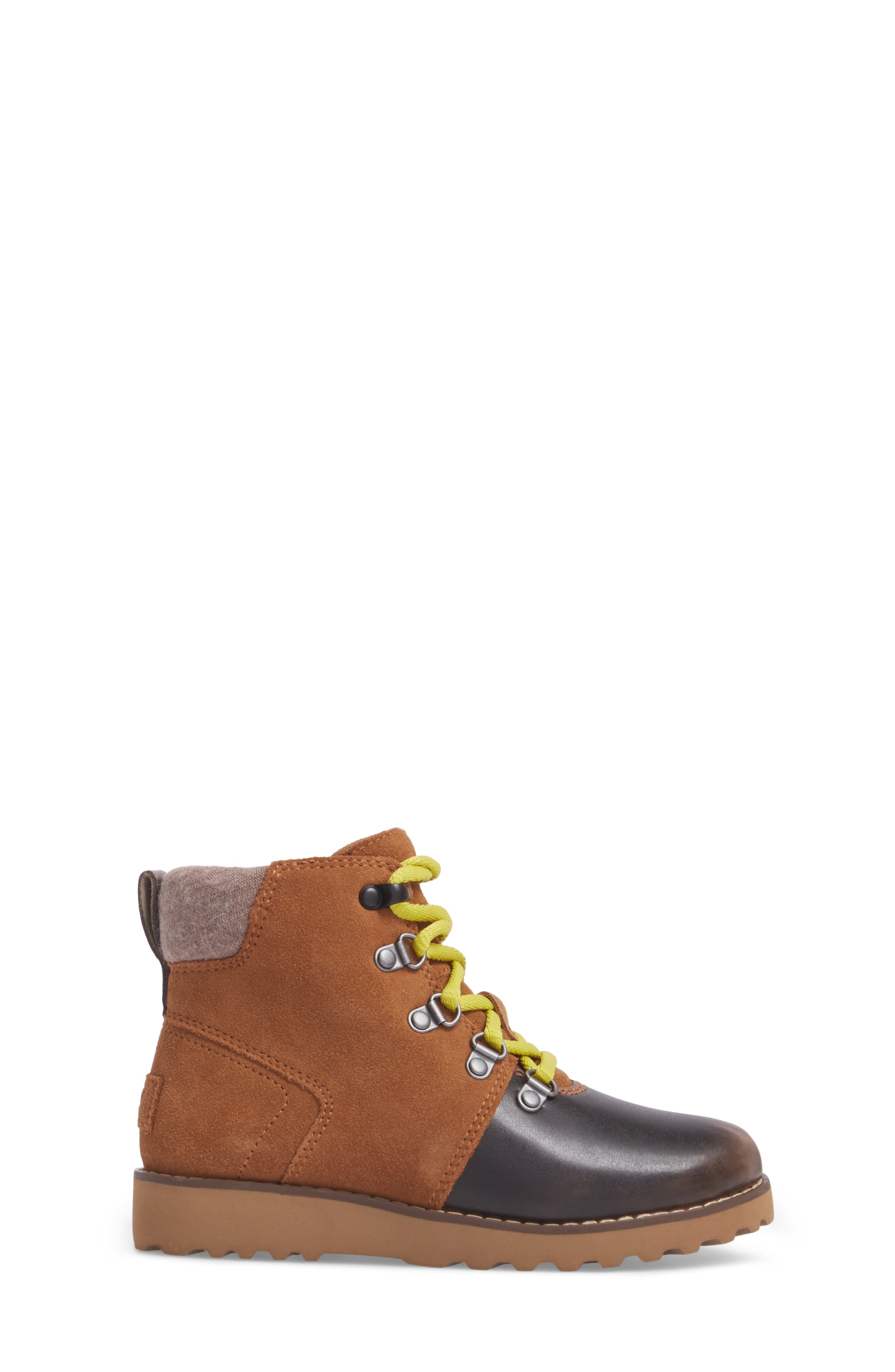 Alternate Image 3  - UGG® Hilmar Waterproof Winter Hiking Boot (Toddler, Little Kid & Big Kid)
