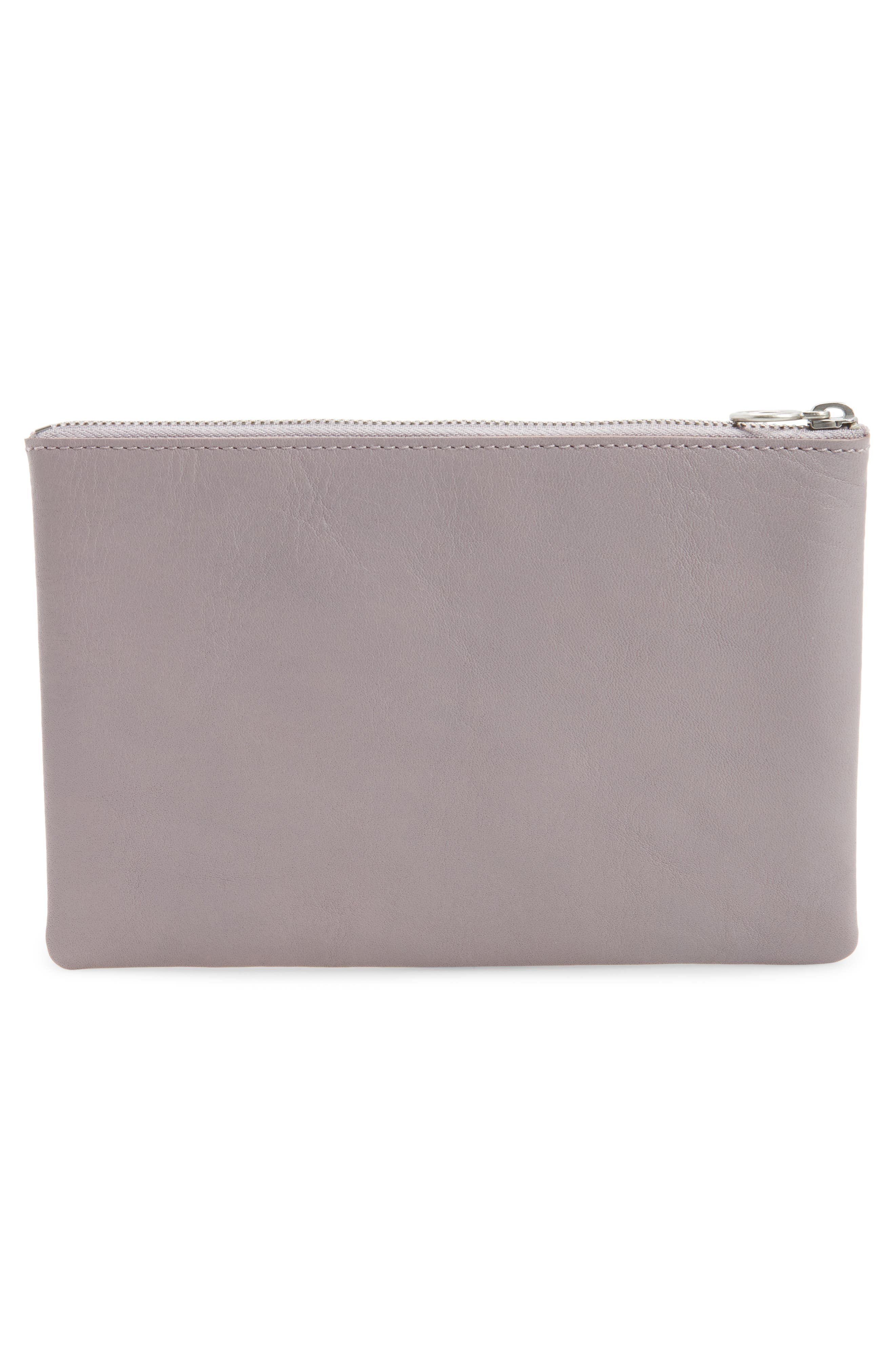 Alternate Image 3  - Madewell The Leather Pouch Clutch
