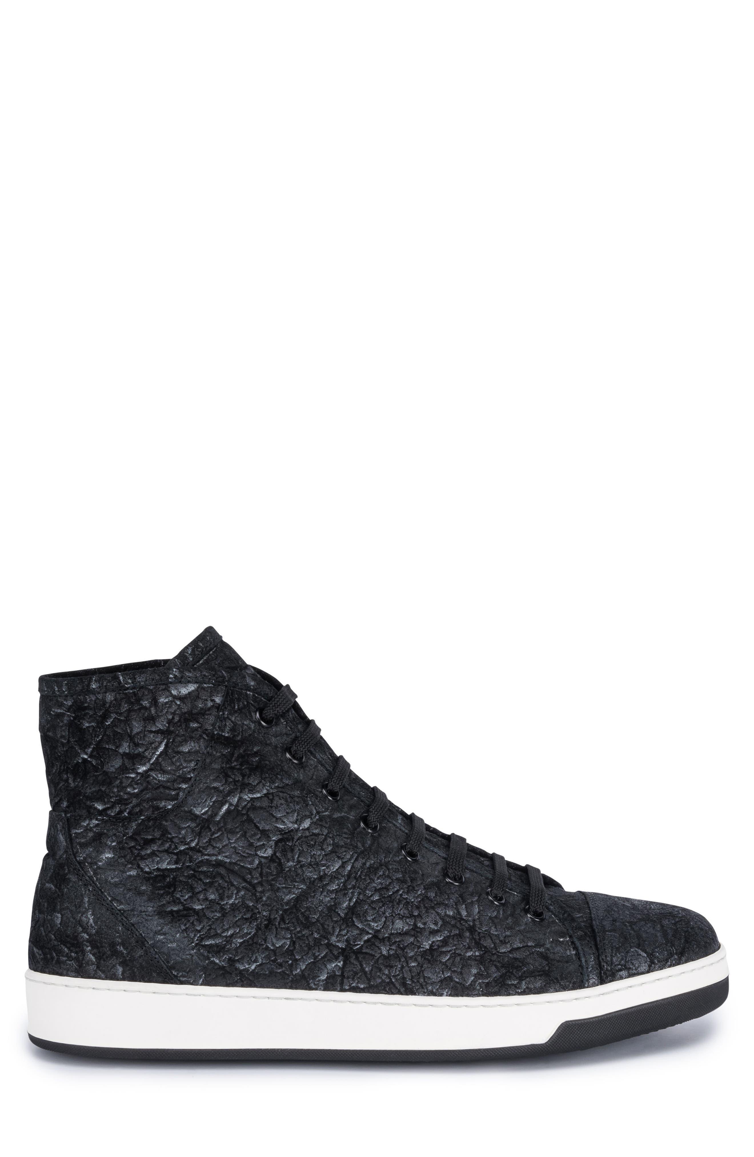 Pompeii Sneaker,                             Alternate thumbnail 3, color,                             Nero
