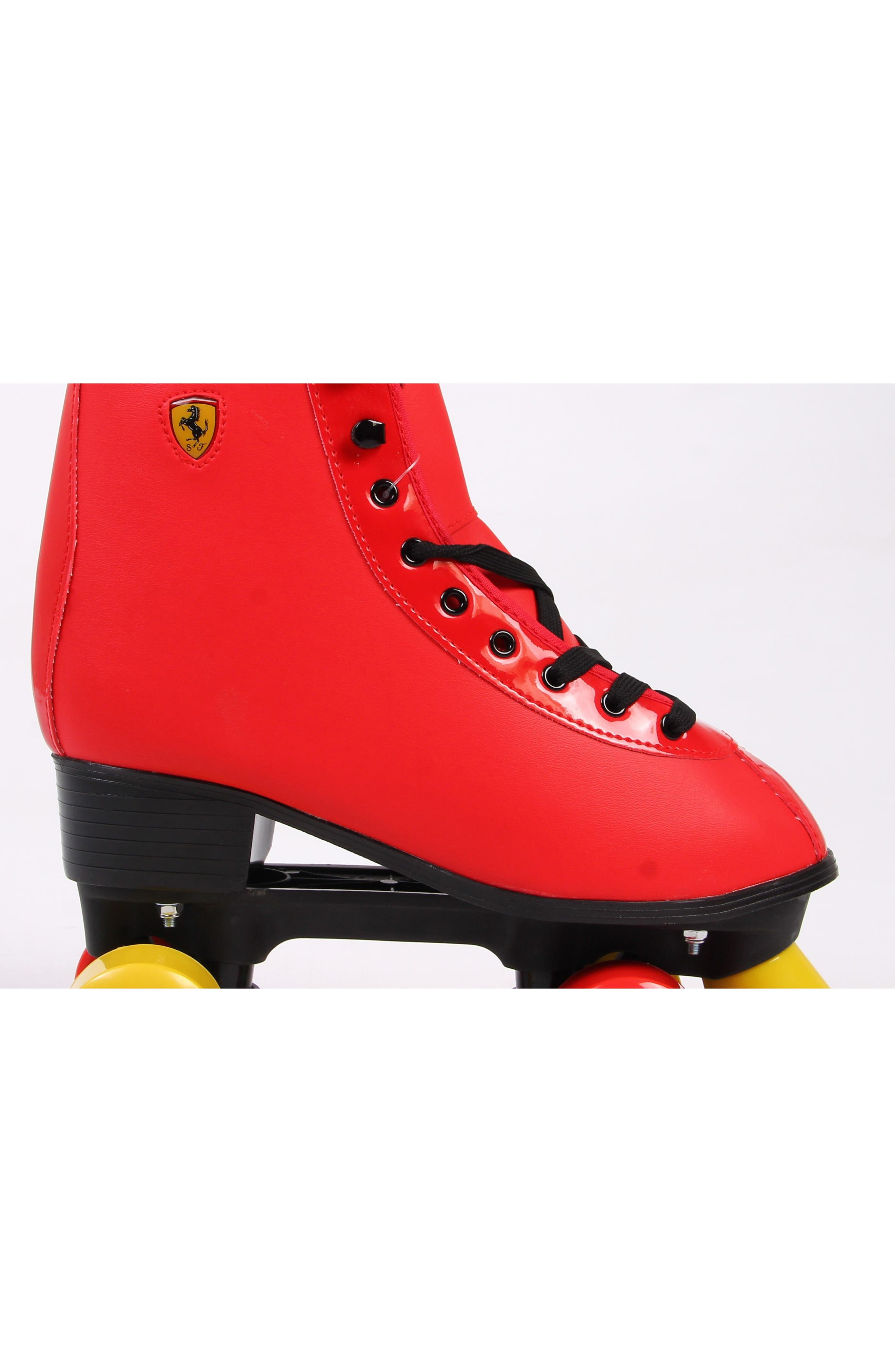 Classic Roller Skates,                             Alternate thumbnail 2, color,                             Ferrari Red