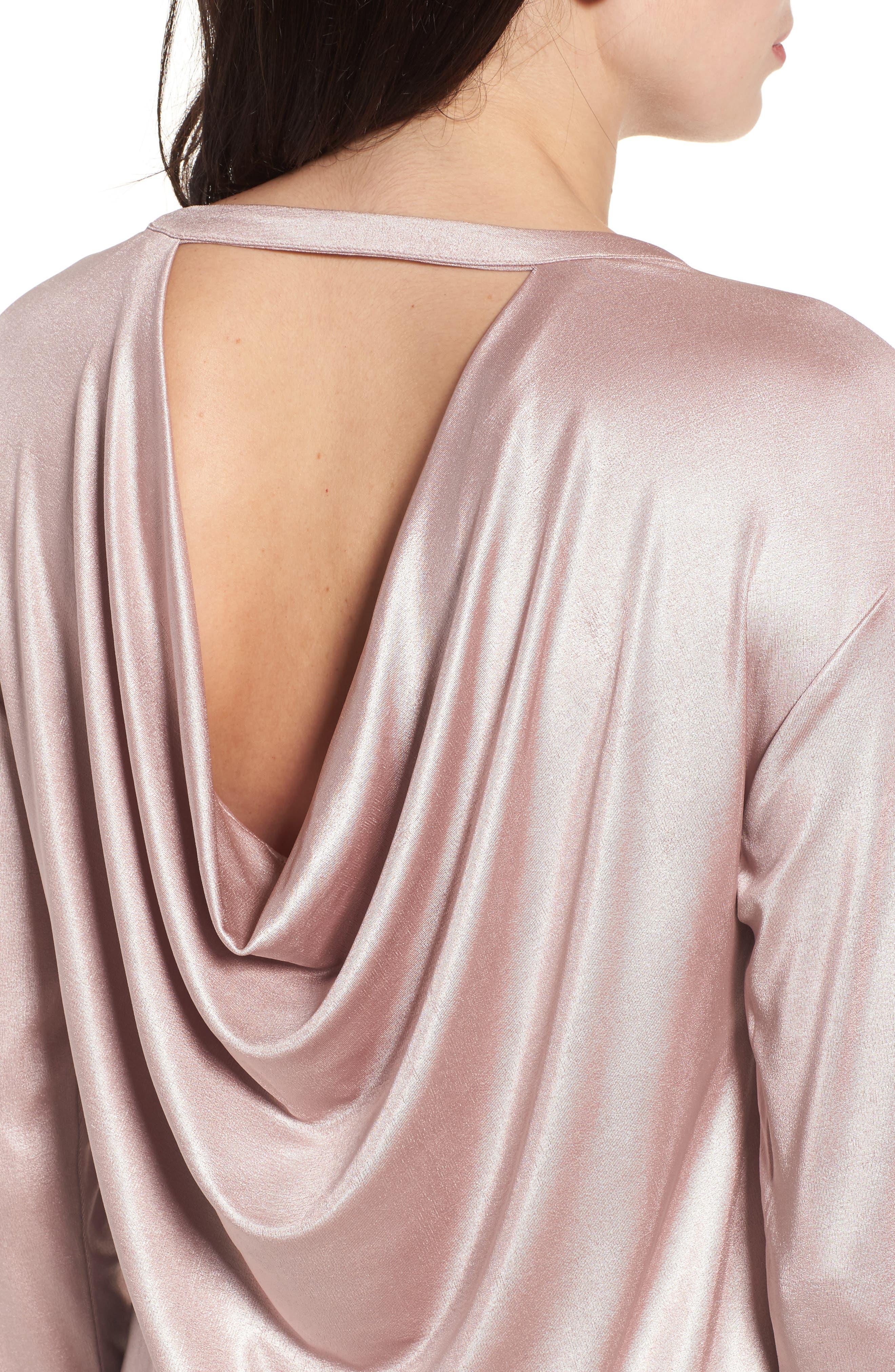 Alternate Image 4  - Halogen® Drape Back Top