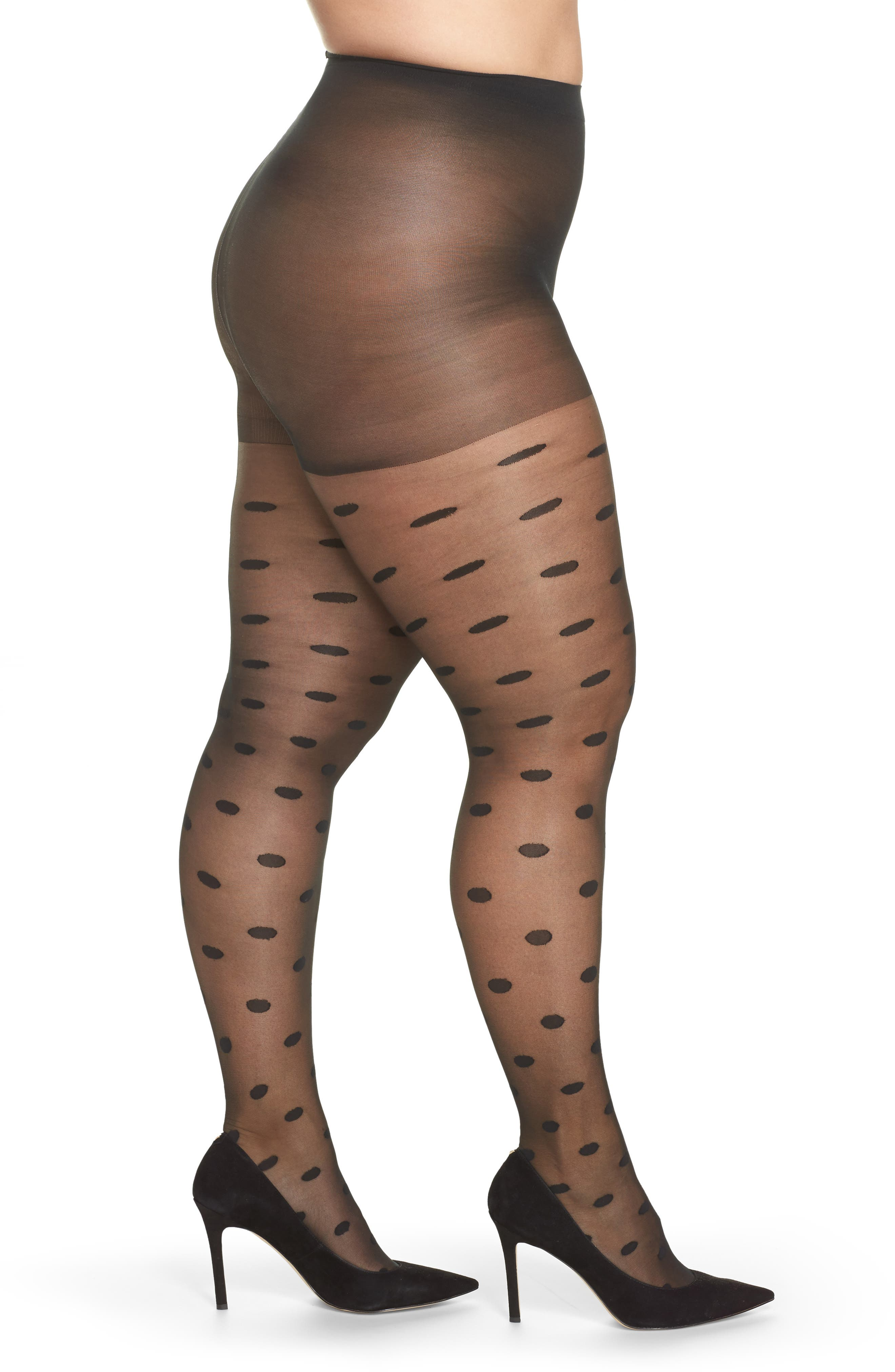 Berkshire Bold Dots Control Top Tights (Plus Size)