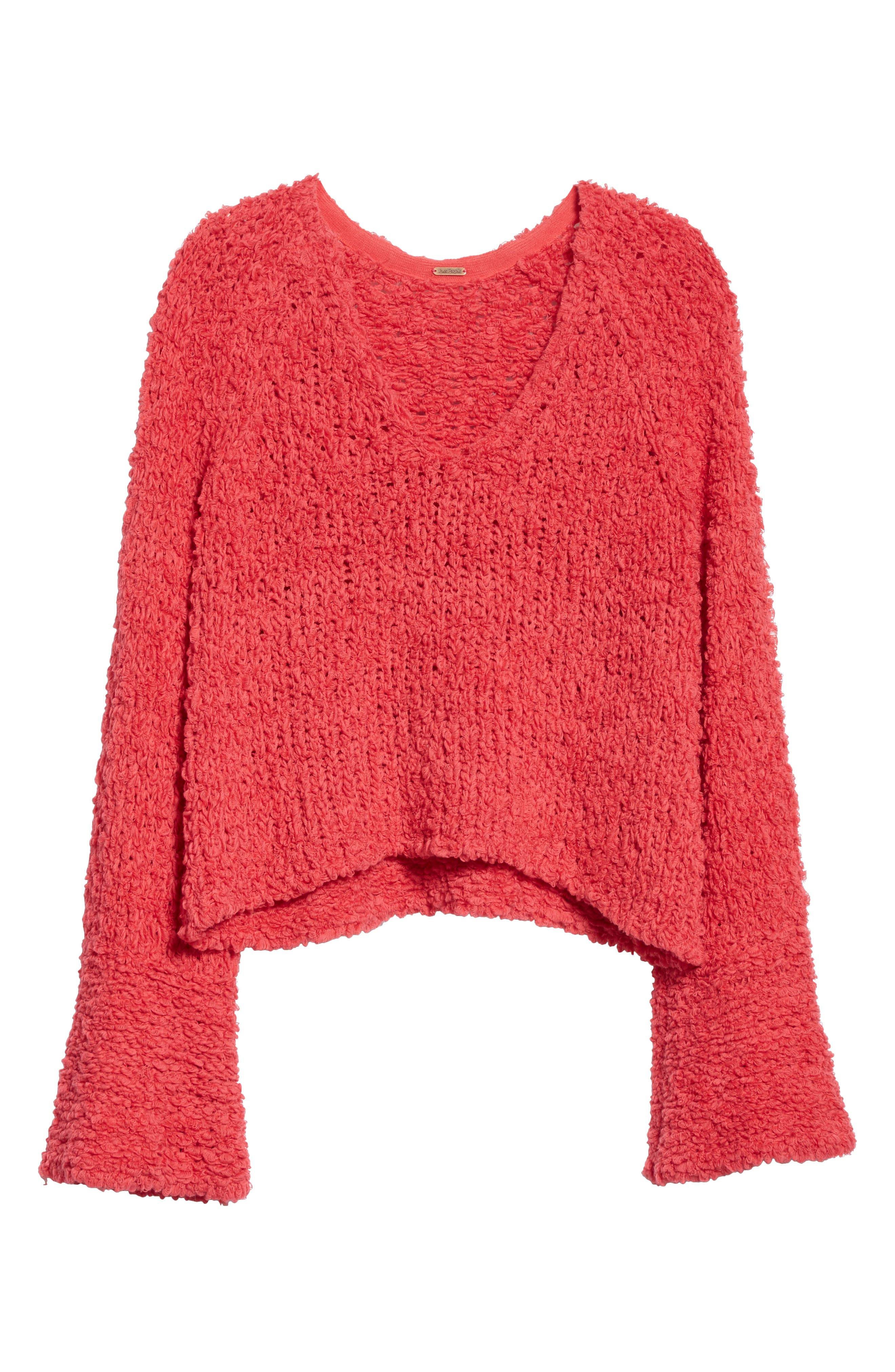 Sand Dune Sweater,                             Alternate thumbnail 6, color,                             Pink