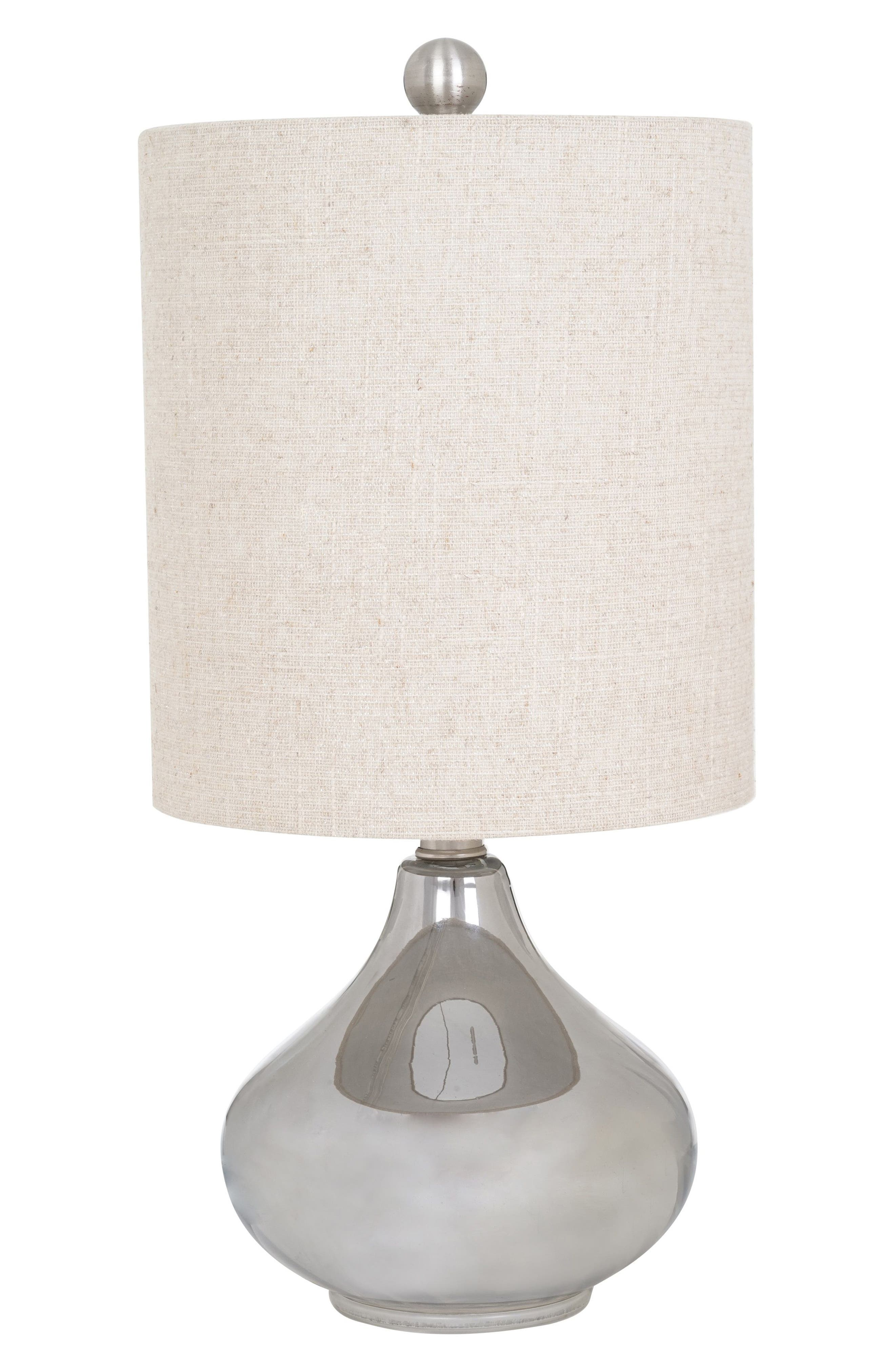 Chrome Table Lamp,                         Main,                         color, Silver