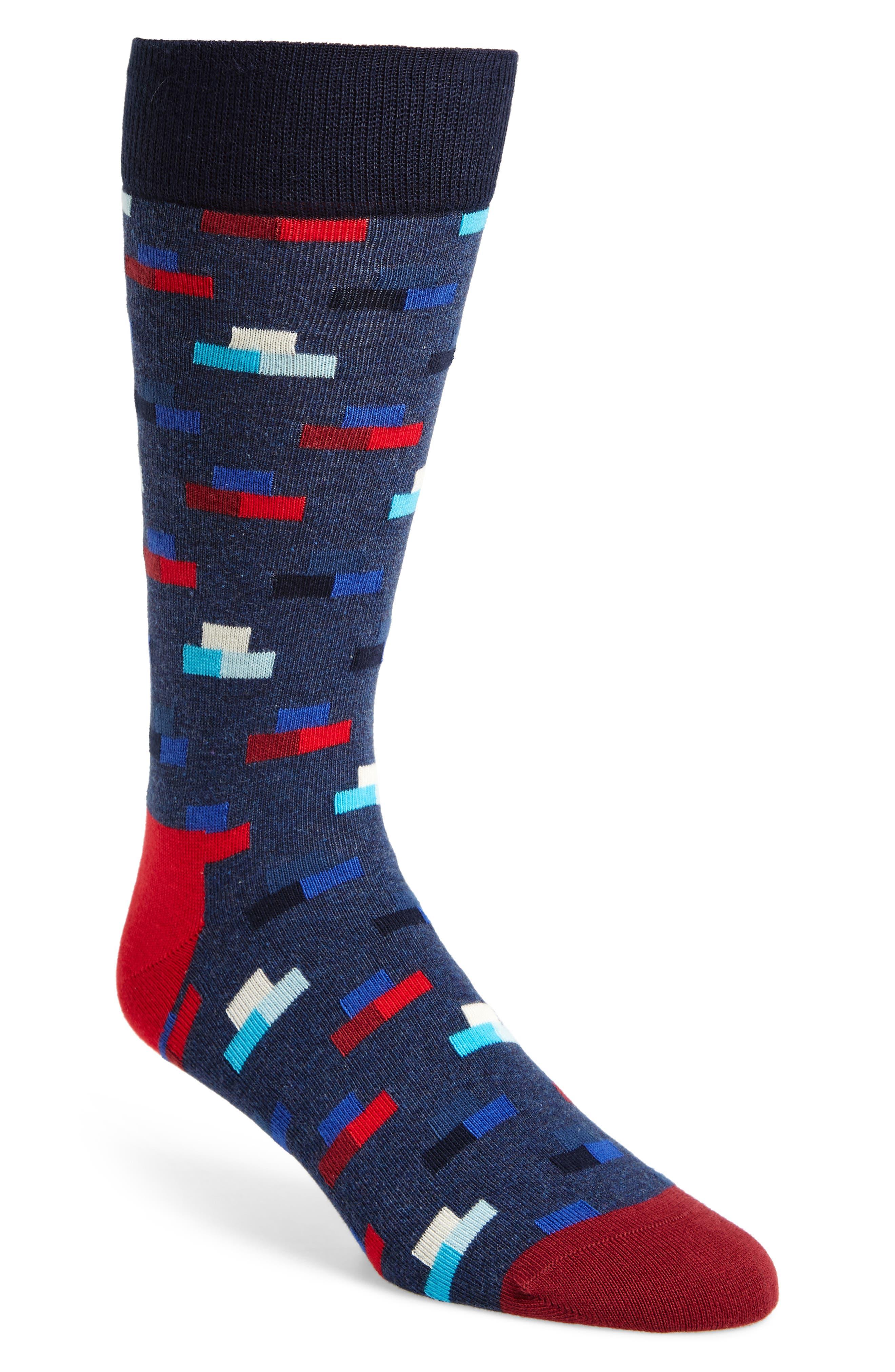 Happy Socks Digitized Pixel Socks (3 for $30)