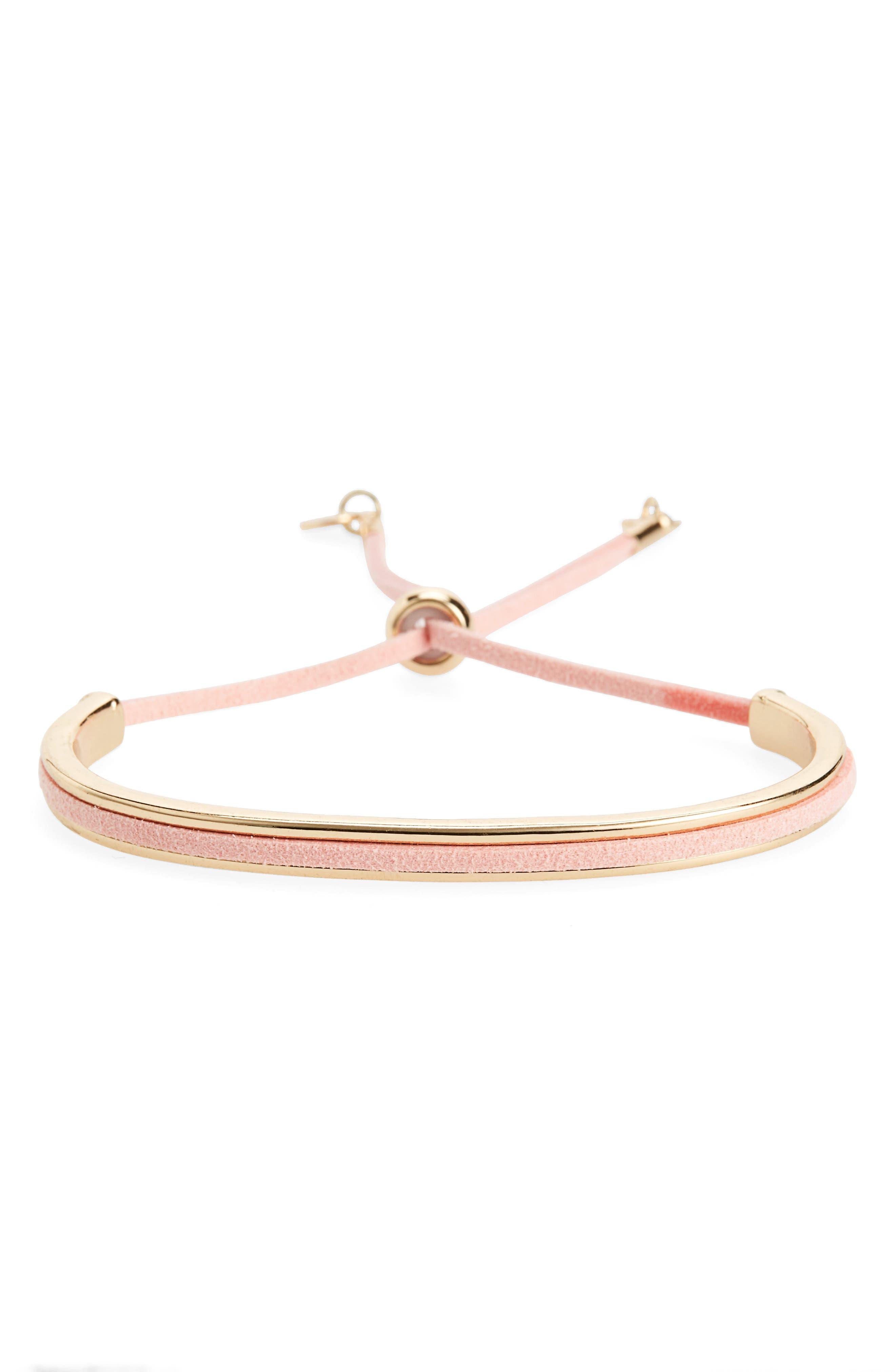Topshop Drawstring Bracelet