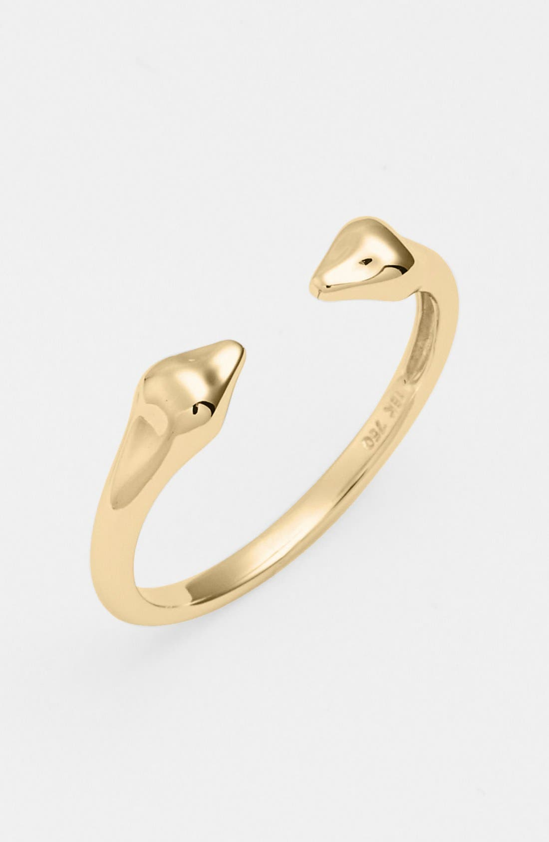 Main Image - Bony Levy 14KT Stackable Open Band Ring (Nordstrom Exclusive)