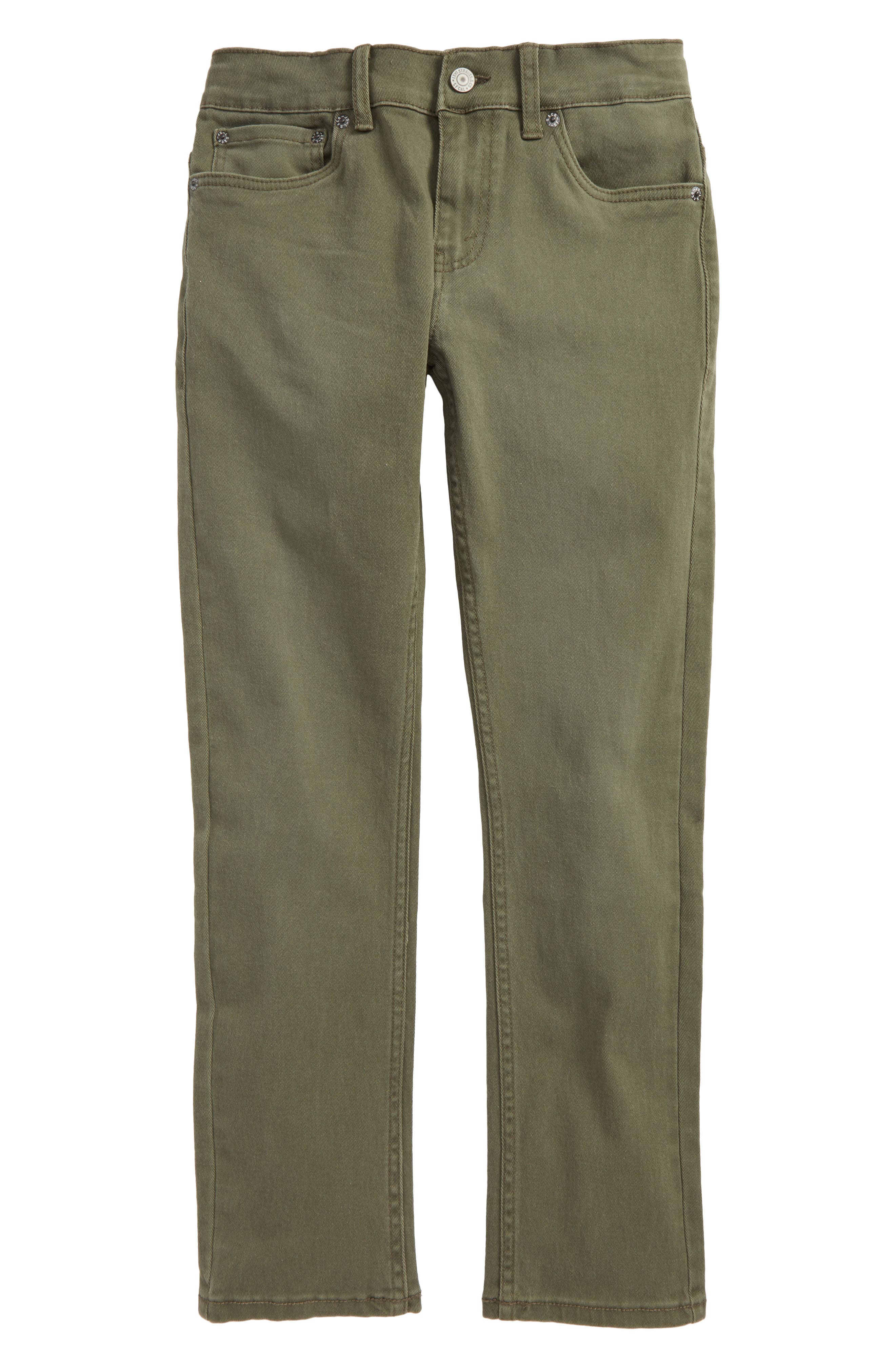 511 Slim Fit Jeans,                         Main,                         color, Olive Night