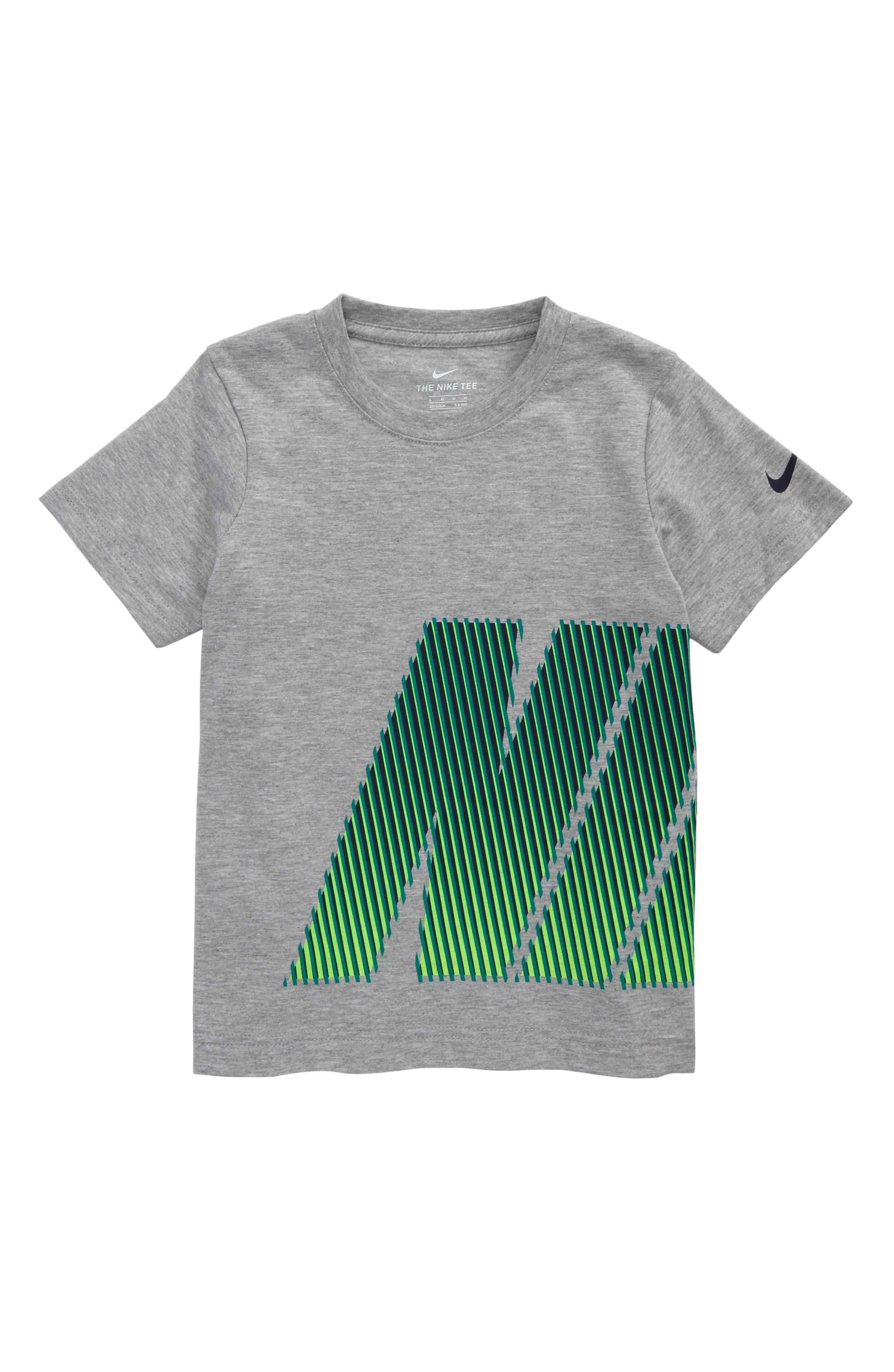 Main Image - Nike Lenticular Logo Graphic T-Shirt (Toddler Boys & Little Boys)