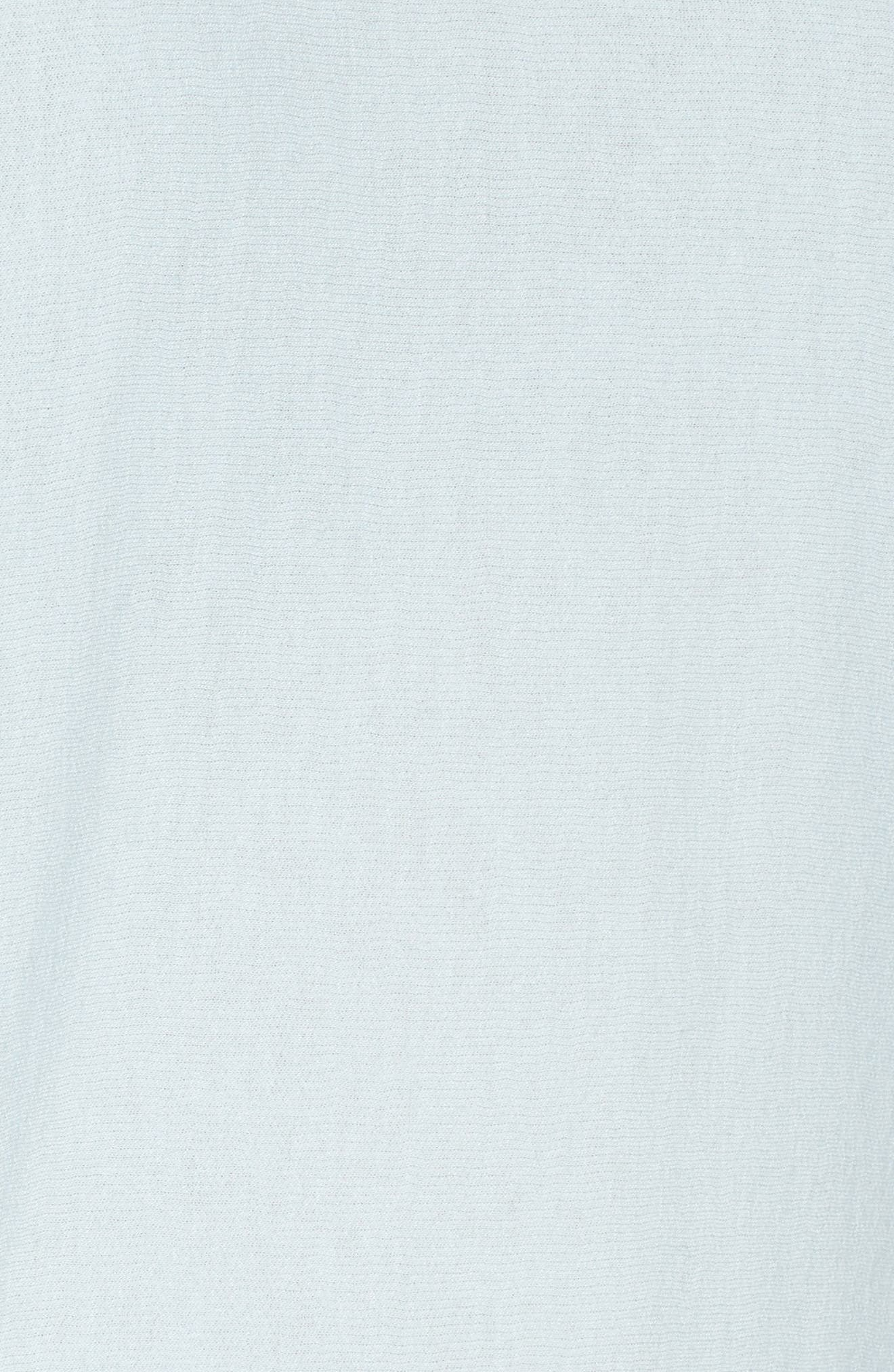 Alternate Image 5  - PST by Project Social T Ruched Sleeve Sweatshirt
