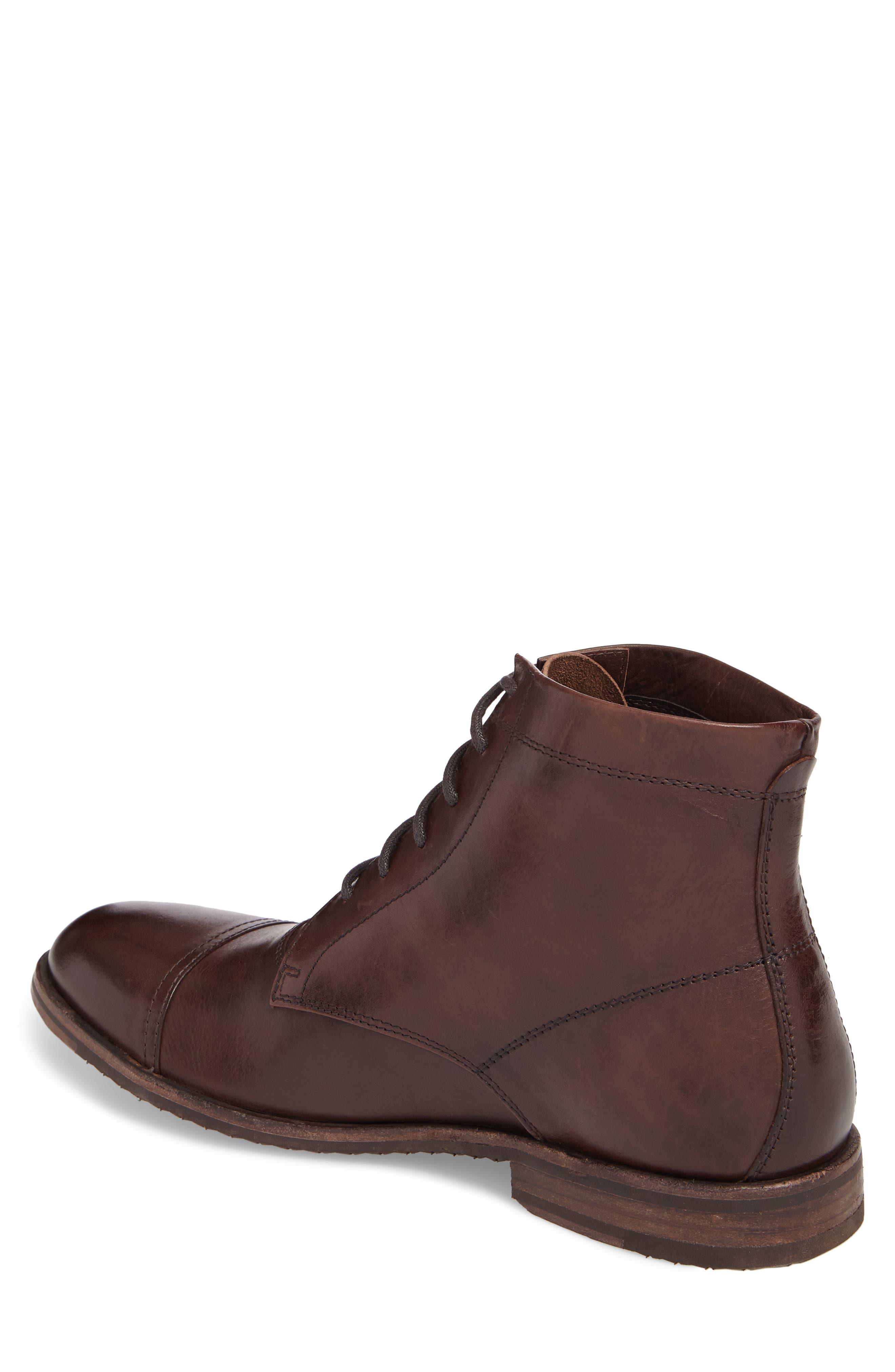 Alternate Image 2  - Frye Sam Cap Toe Boot (Men)