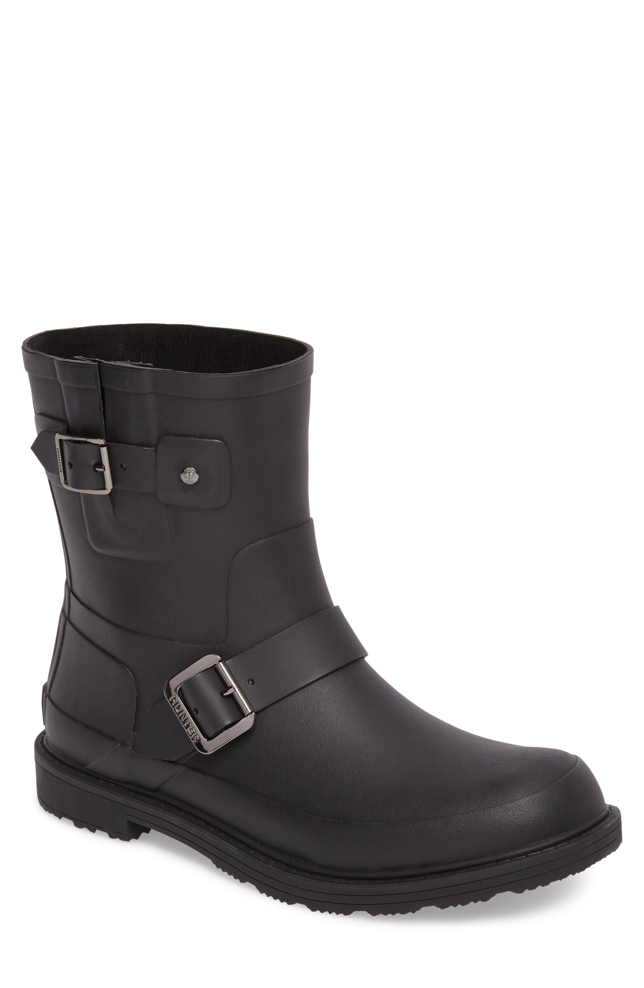 Original Waterproof Biker Boot,                         Main,                         color, Black