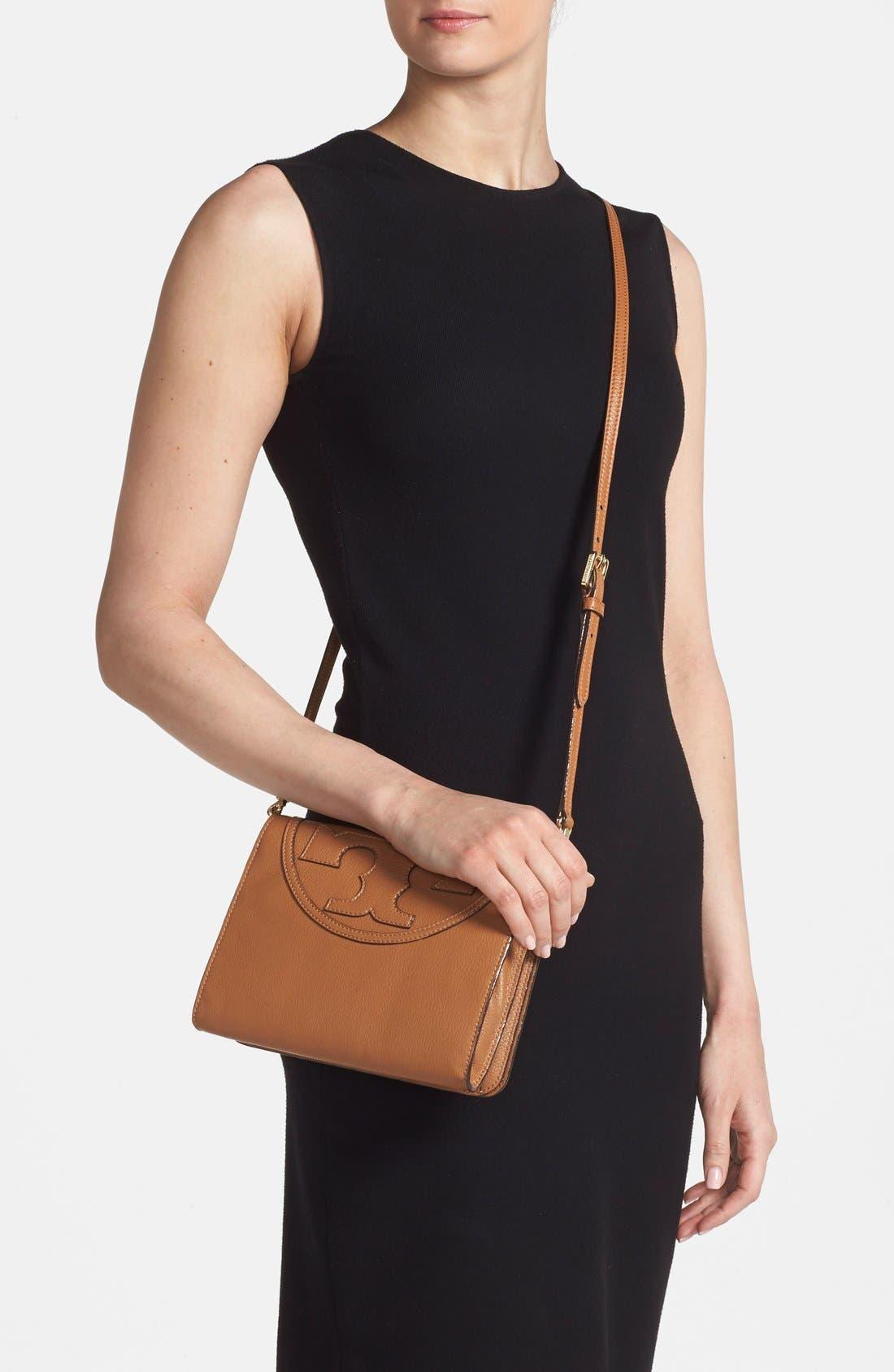 Alternate Image 2  - Tory Burch 'All-T' Leather Crossbody Bag