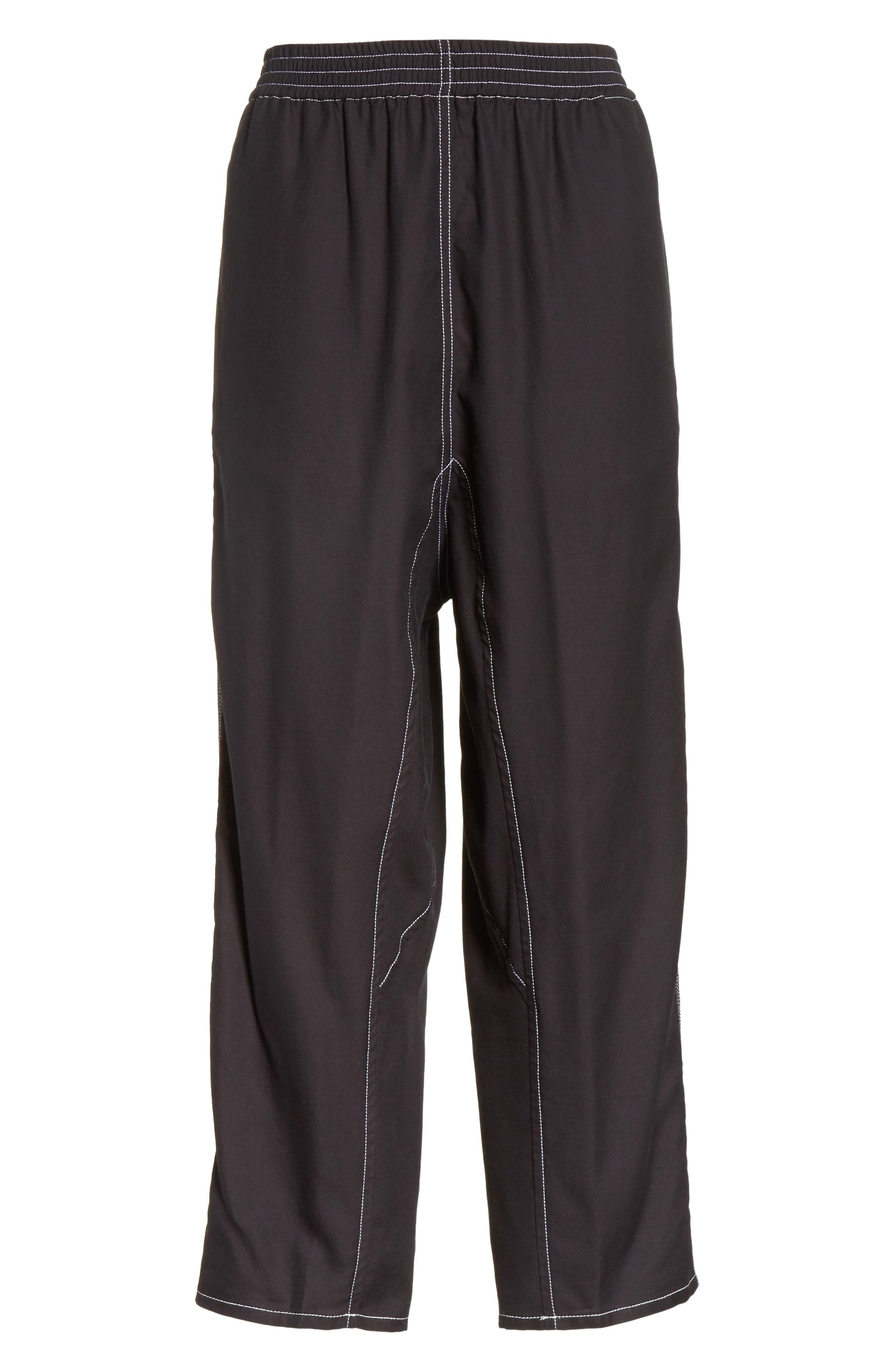 Crop Pants,                             Alternate thumbnail 7, color,                             Black