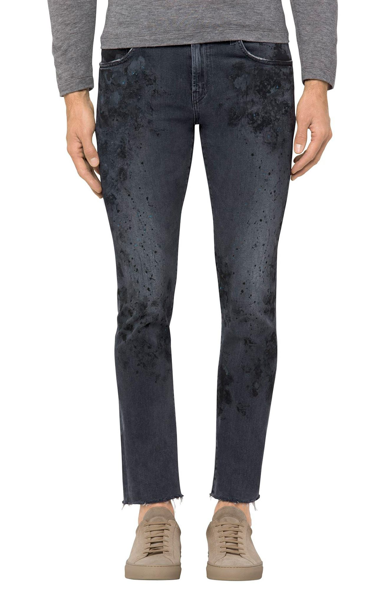 Alternate Image 1 Selected - J Brand Mick Skinny Fit Jeans (Vitreous)