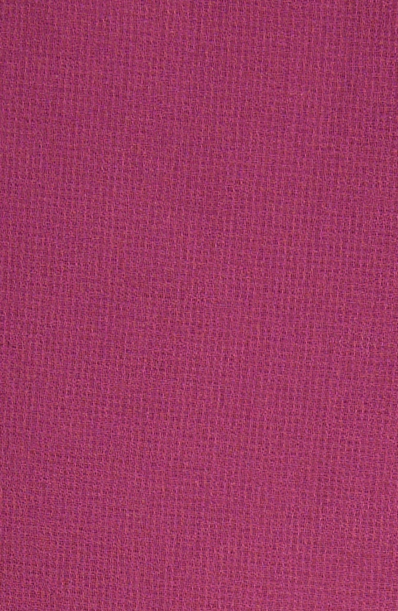 Dena Ruffle Top,                             Alternate thumbnail 5, color,                             Raspberry