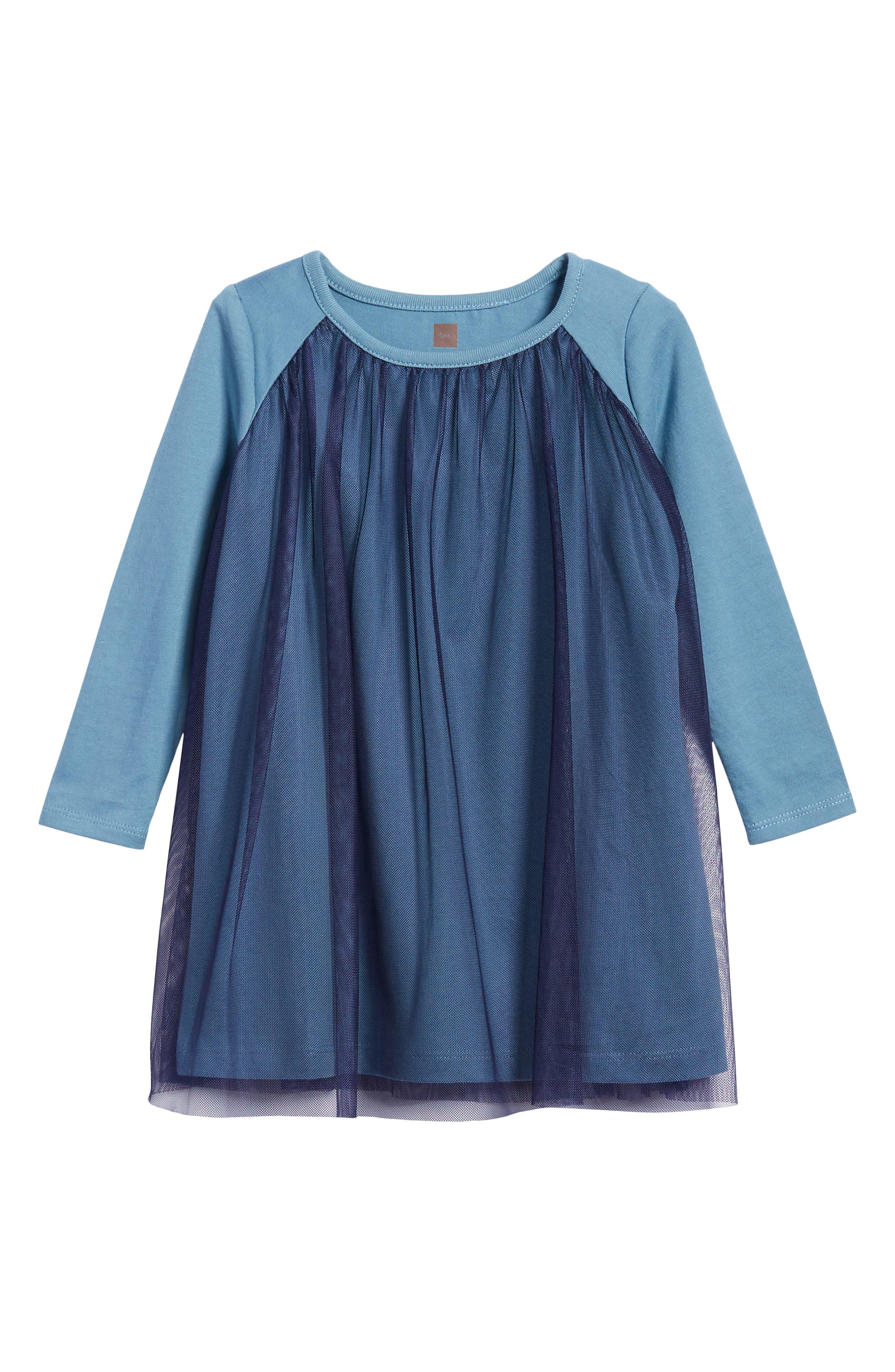 Alternate Image 1 Selected - Tea Collection Mackenzie Tulle Dress (Toddler Girls, Little Girls & Big Girls)