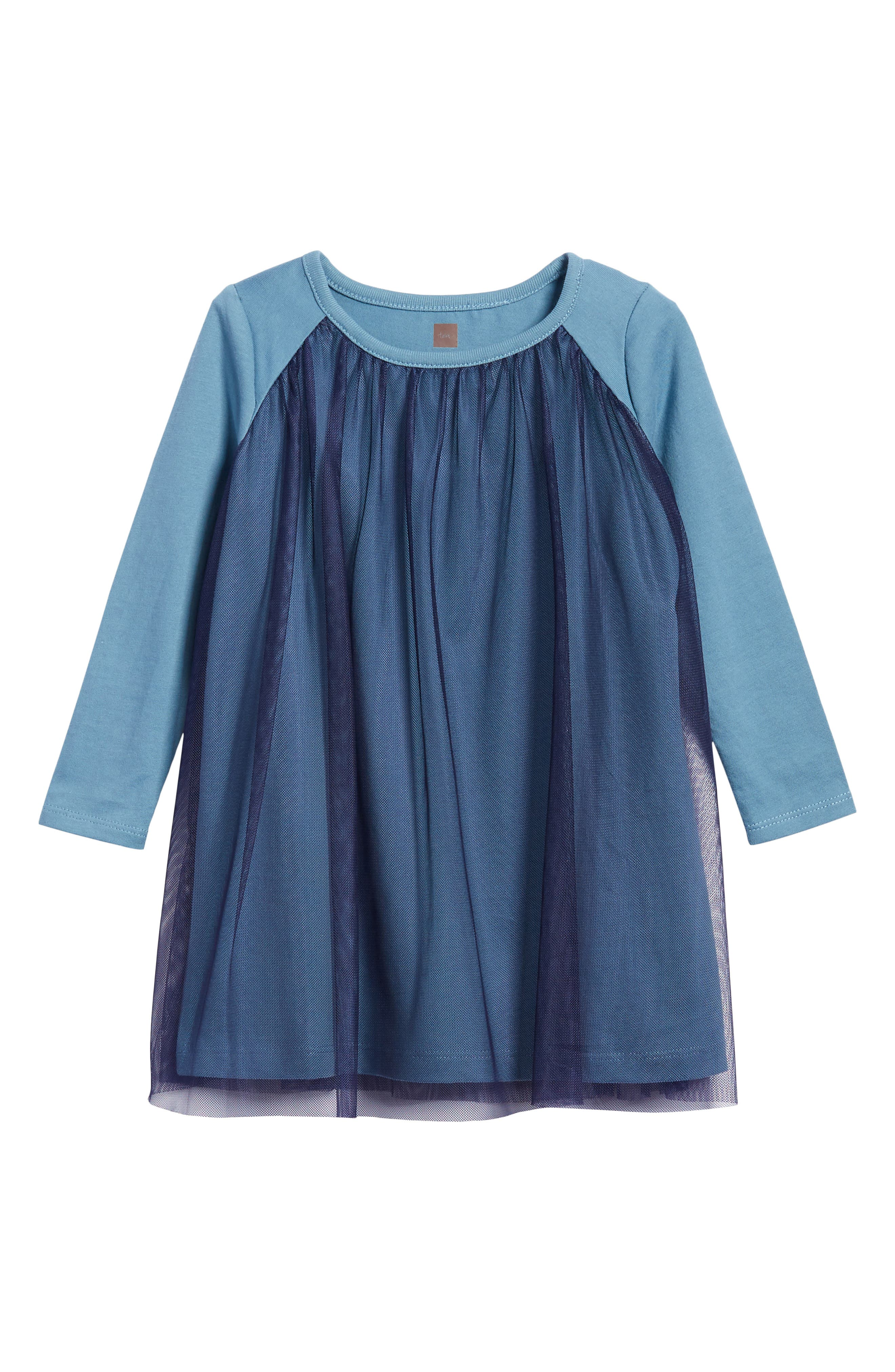 Main Image - Tea Collection Mackenzie Tulle Dress (Toddler Girls, Little Girls & Big Girls)