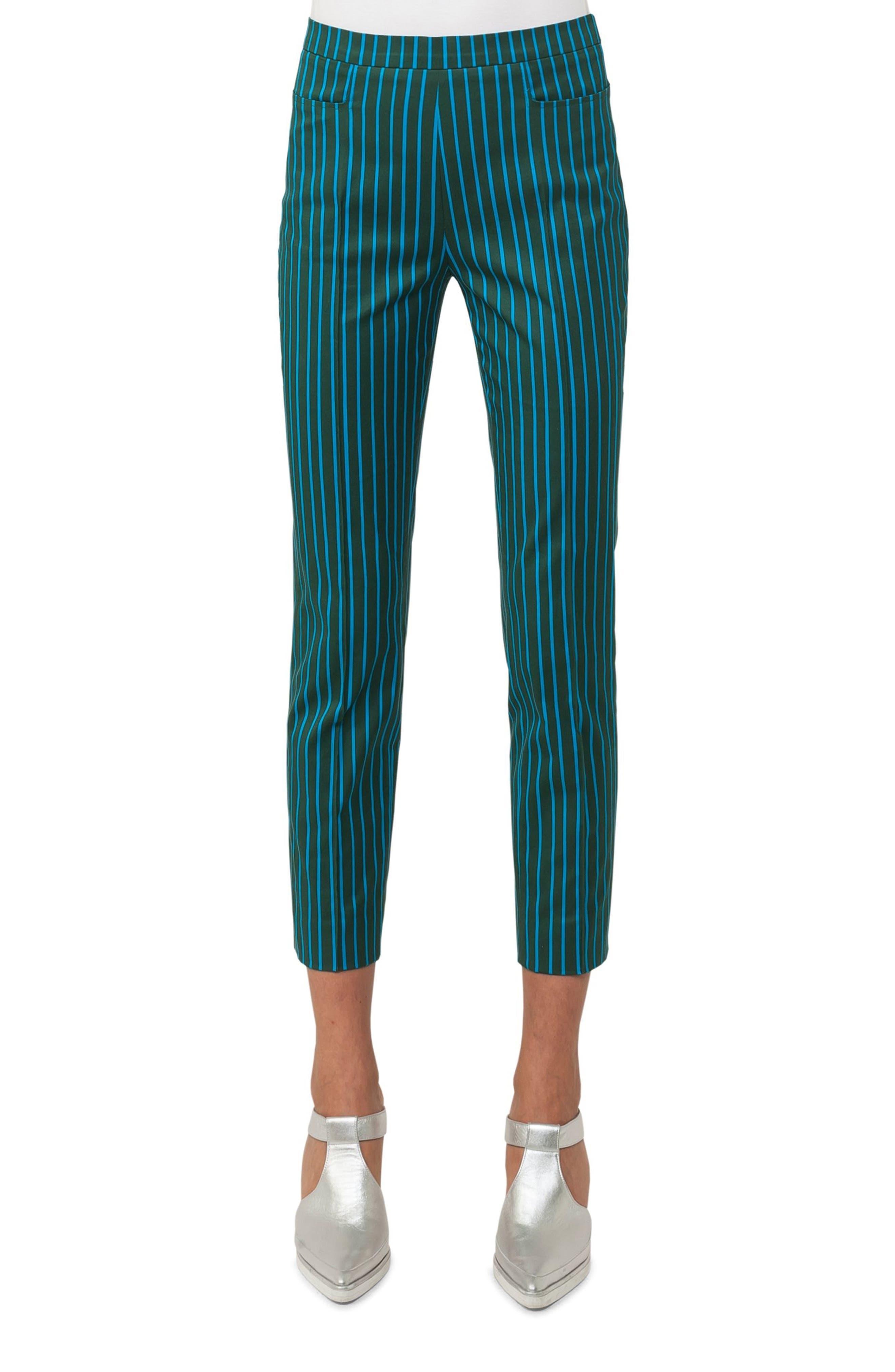 Alternate Image 1 Selected - Akris punto Franca Stripe Pants