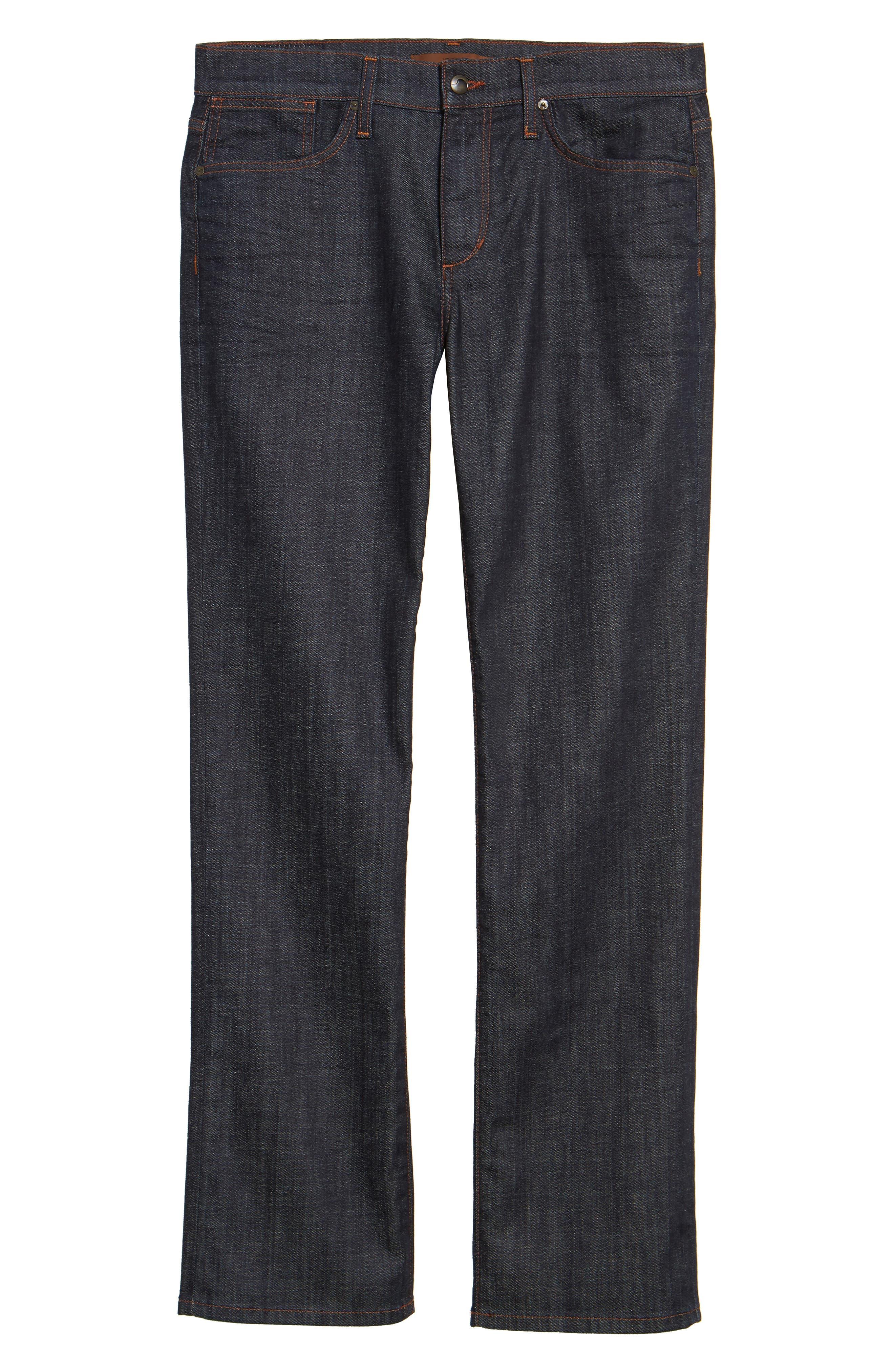 Classic Straight Leg Jeans,                             Alternate thumbnail 6, color,                             Dakota