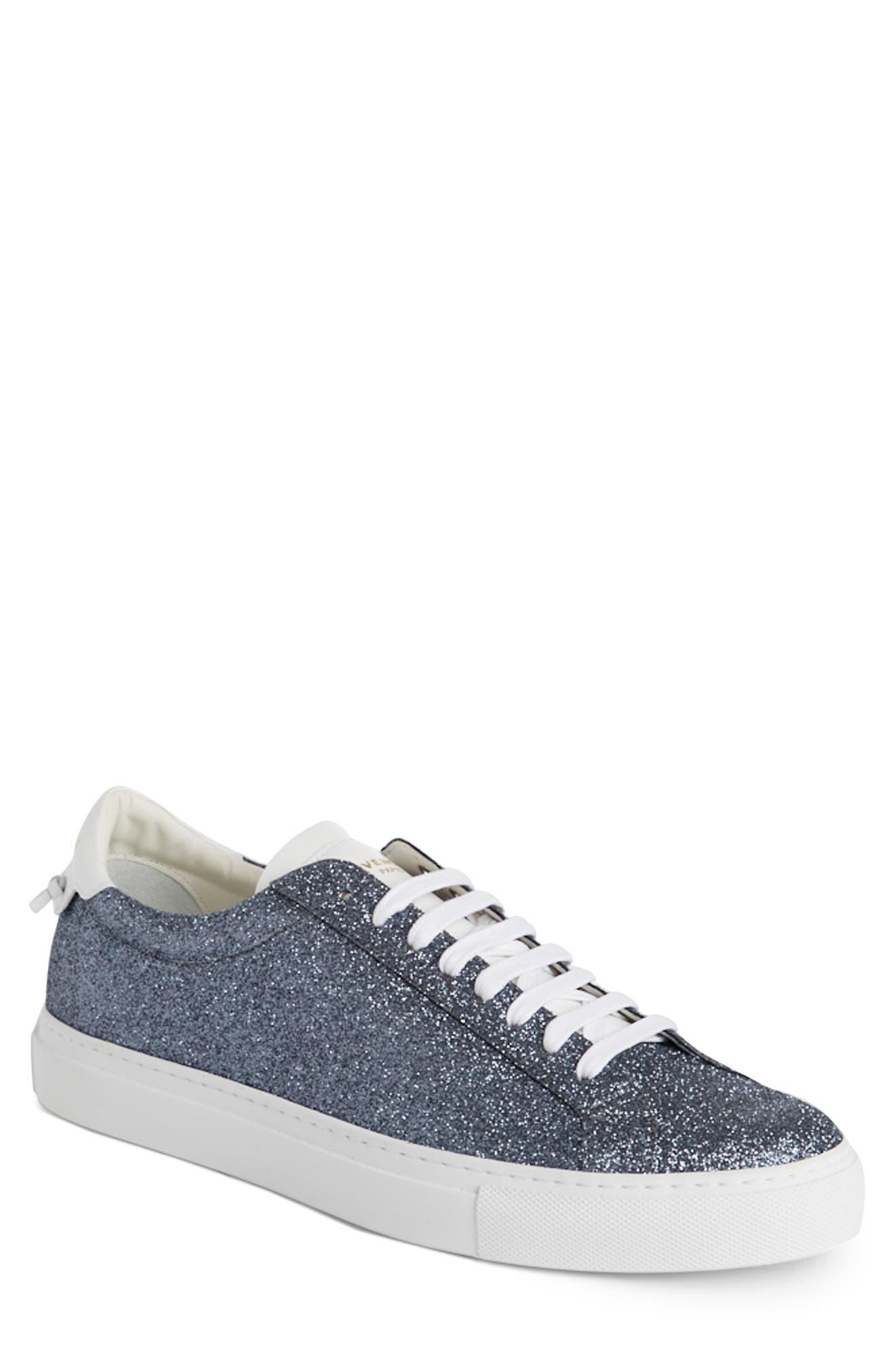 Urban Knots Glitter Sneaker,                         Main,                         color, Grey