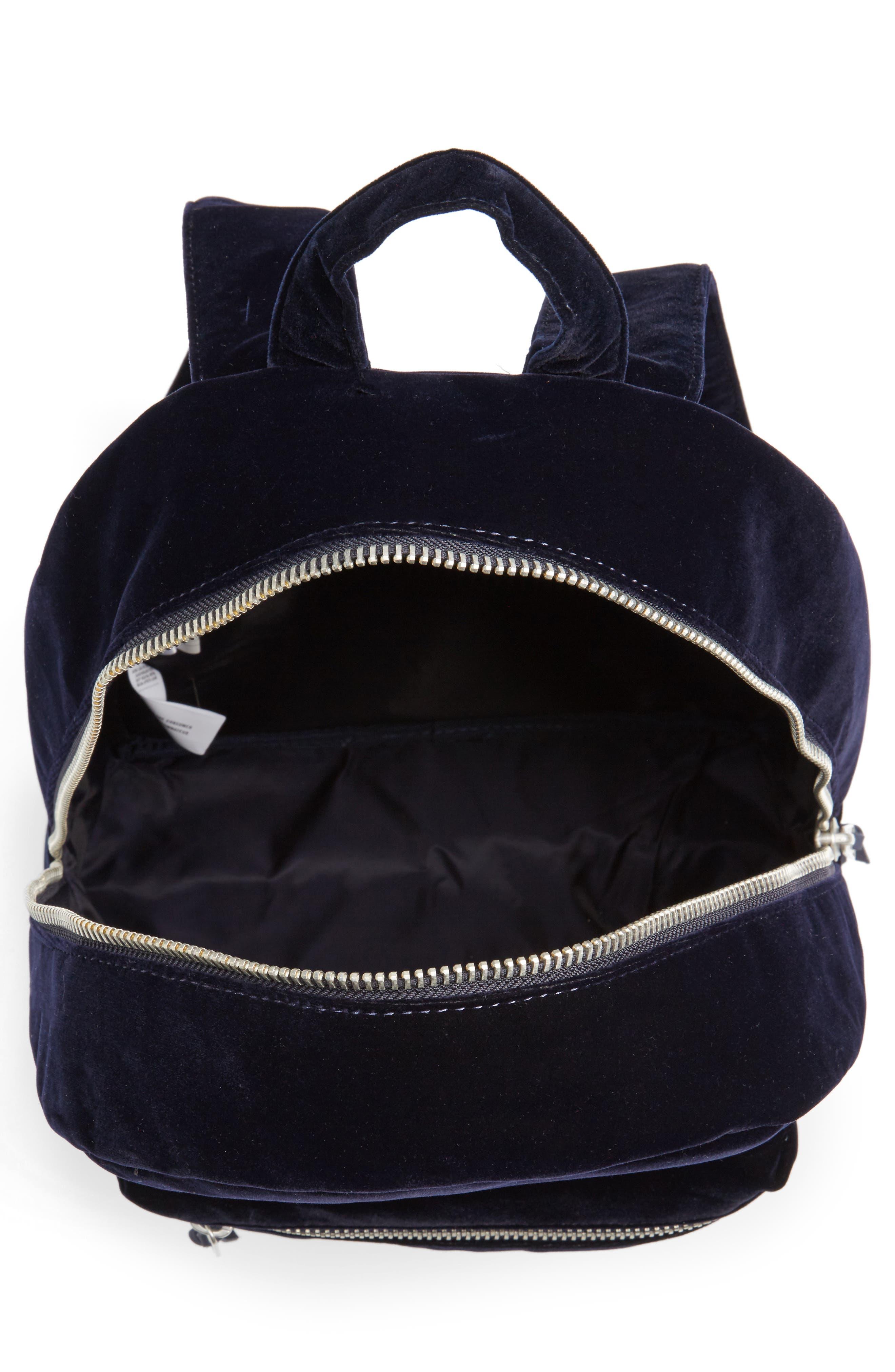 Alternate Image 4  - Herschel Supply Co. X-Small Velvet Grove Backpack