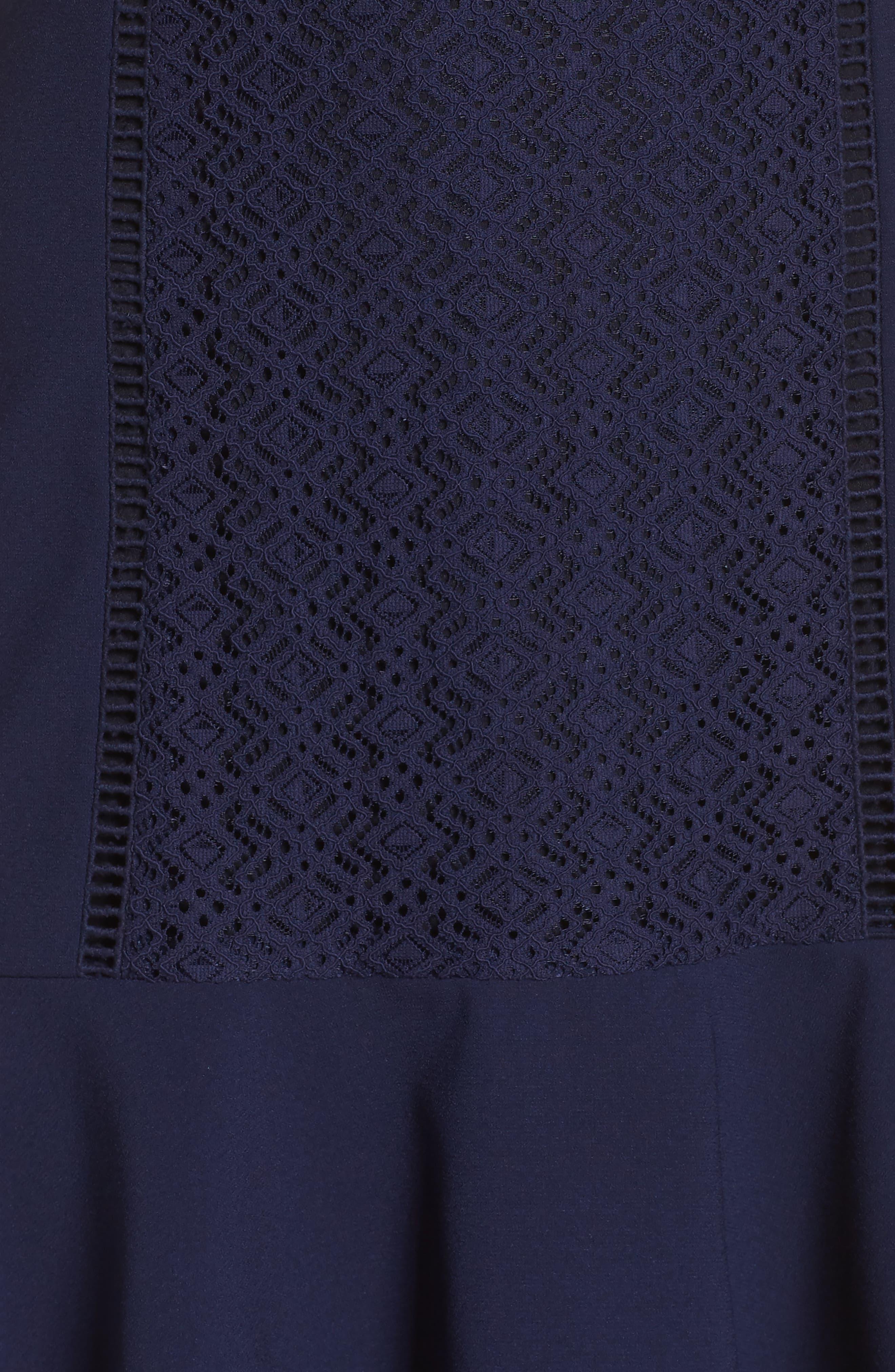 Alternate Image 5  - Greylin Mila Lace Fit & Flare Dress