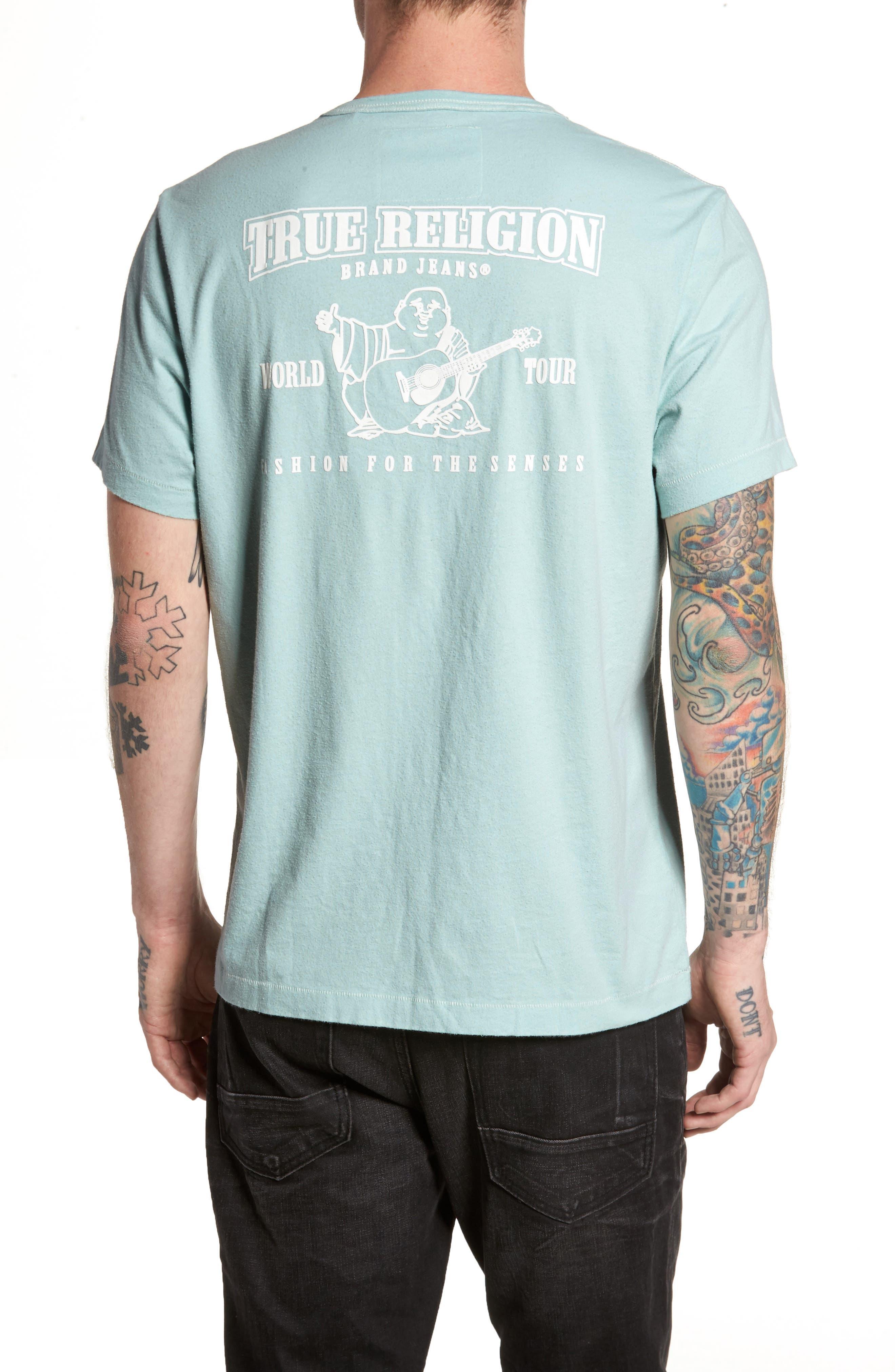 Core T-Shirt,                             Alternate thumbnail 2, color,                             Pale Blue