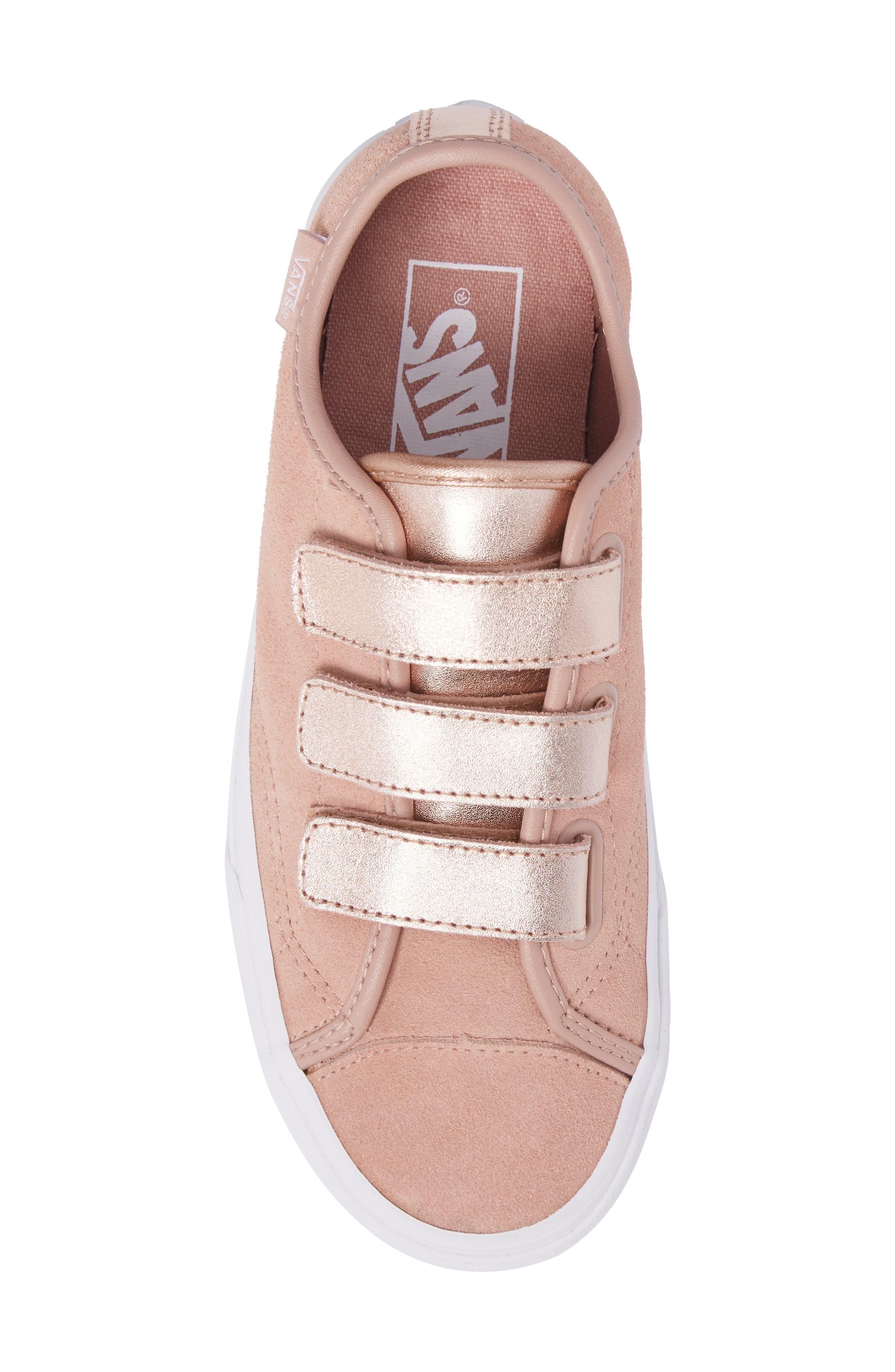 Style 23 V Sneaker,                             Alternate thumbnail 6, color,                             Mahogany Rose/ True White