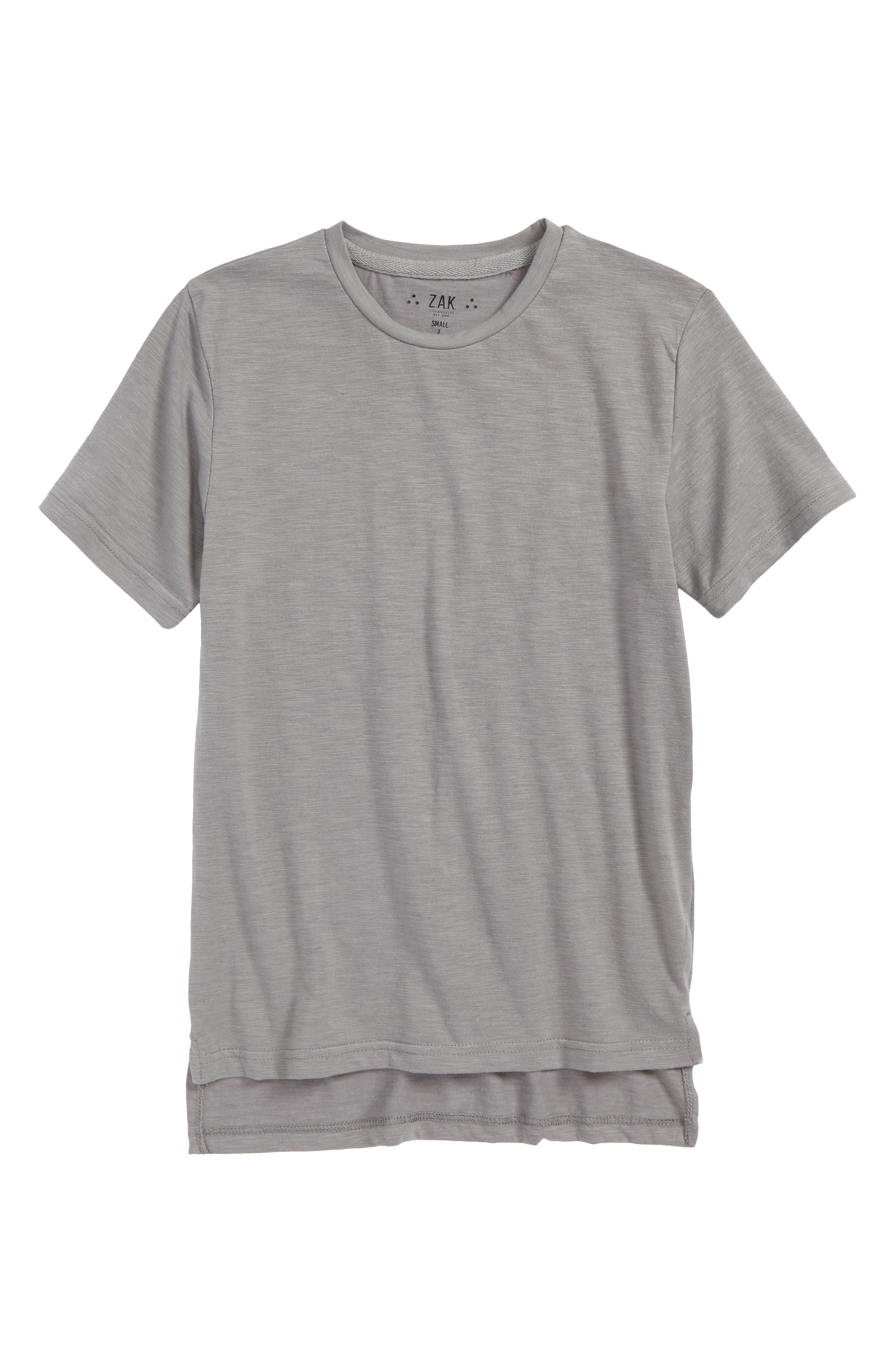 The Lennox Everyday T-Shirt,                             Main thumbnail 1, color,                             Grey