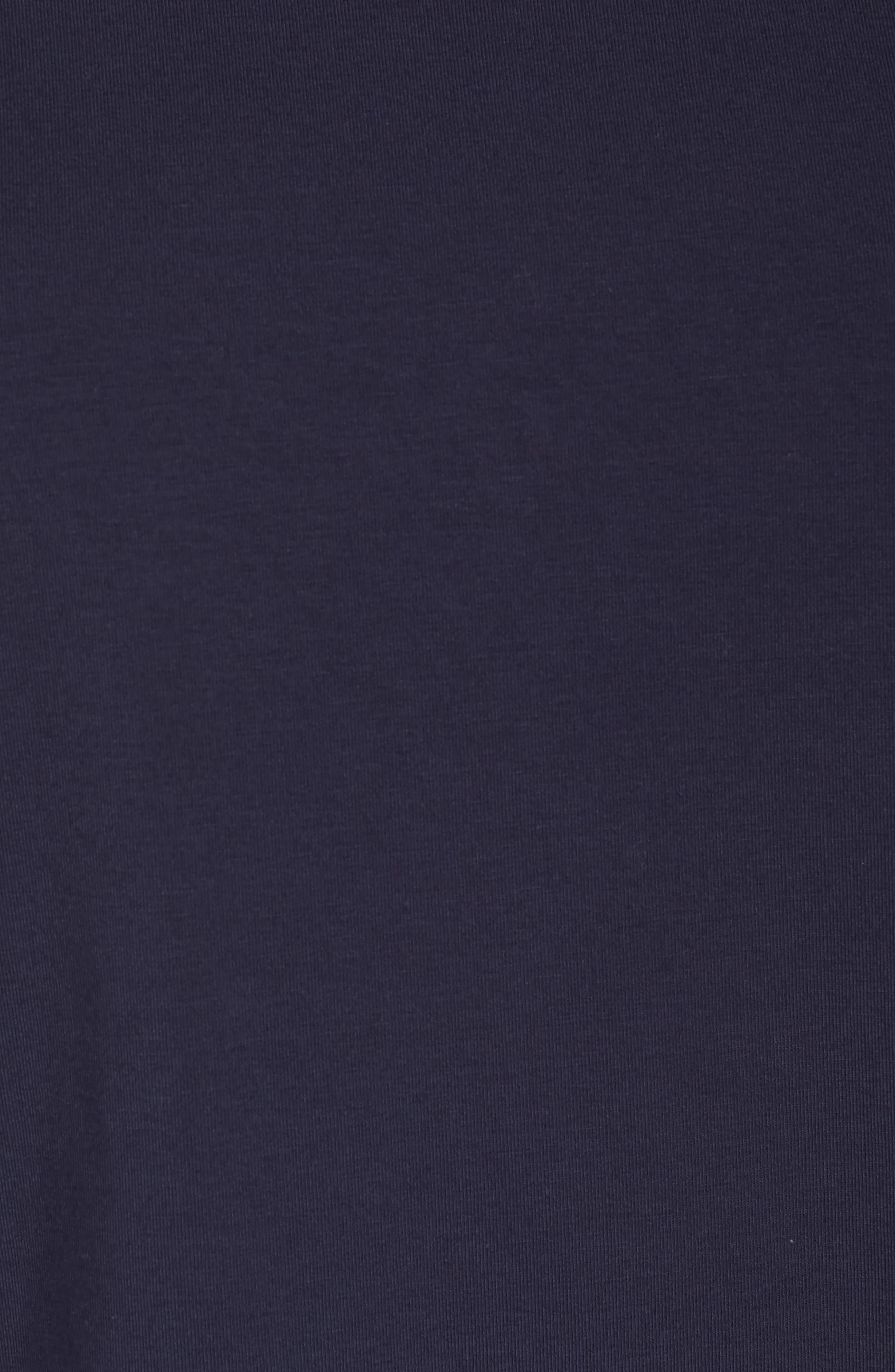 Alternate Image 5  - Eileen Fisher Jewel Neck Organic Stretch Cotton Tee (Plus Size)