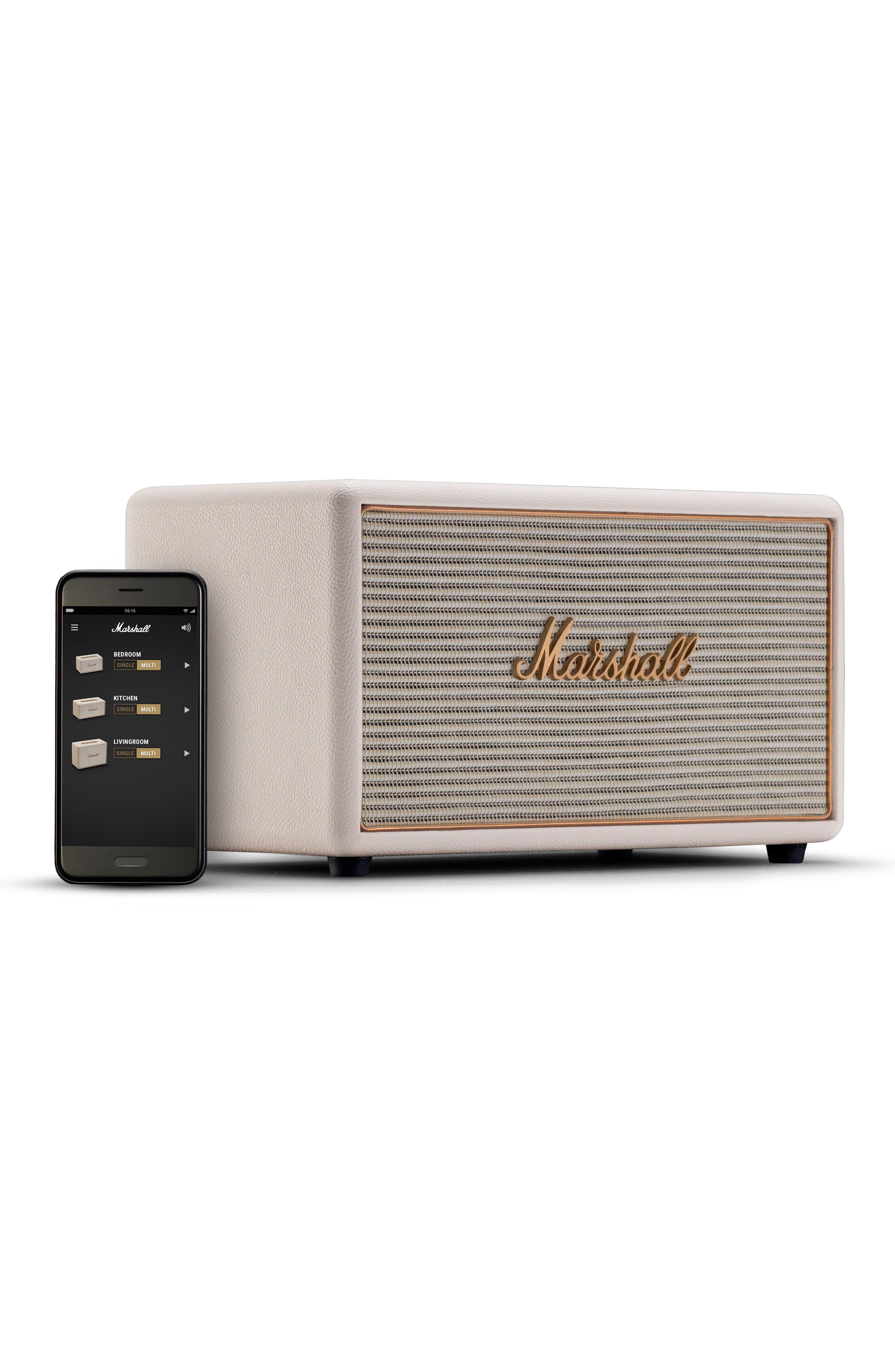 Stanmore Multi Room WiFi & Bluetooth Speaker,                             Alternate thumbnail 5, color,                             Cream